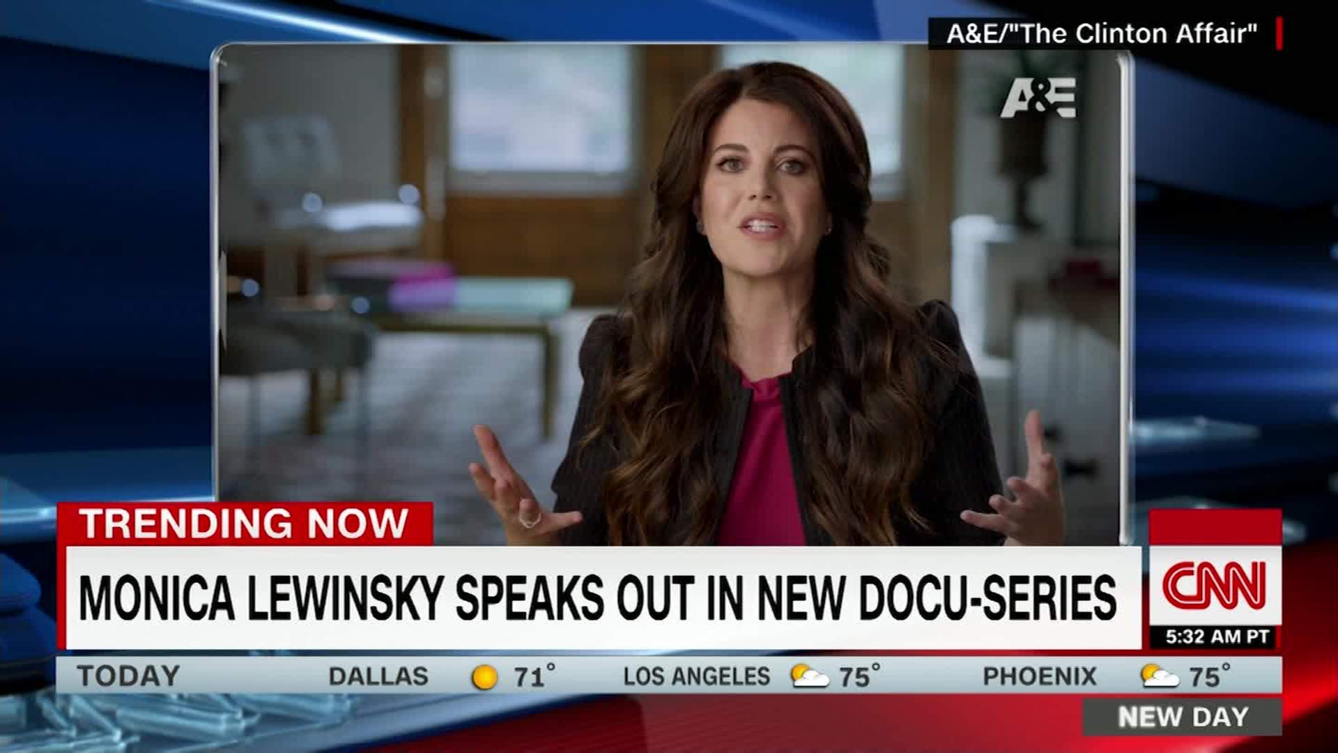 Lewinsky offers colorful remark in apparent response to Starr joining Trump defense team