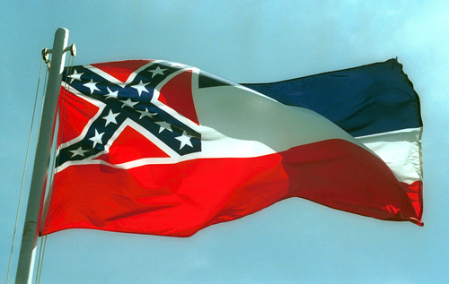 Image for Mississippi state legislature passes bill to remove Confederate symbol from state flag in historic vote