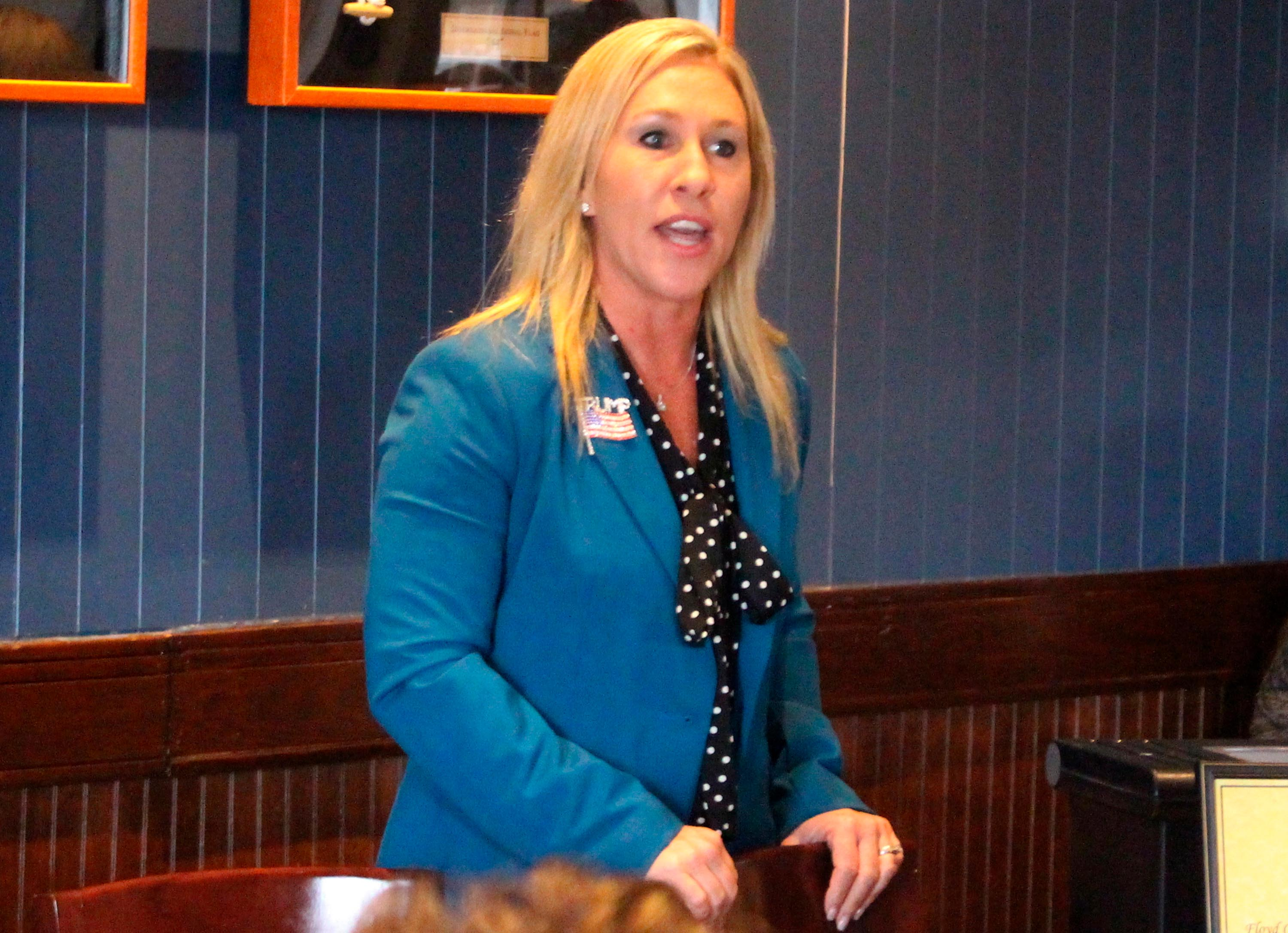 GOP candidate Marjorie Taylor Greene spread conspiracies about Charlottesville and 'Pizzagate'