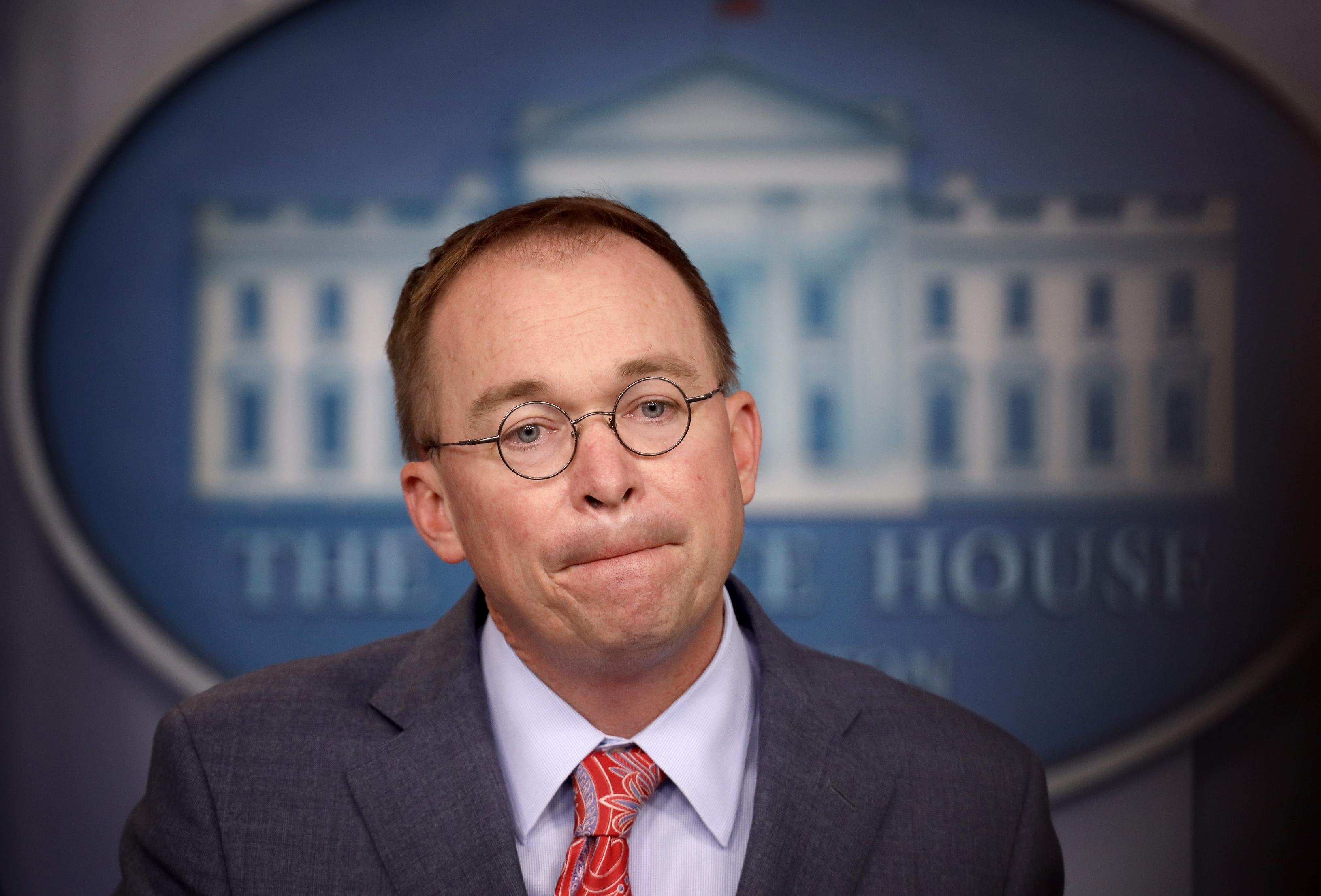 Judge shuts out public from Mick Mulvaney hearing on House impeachment subpoena