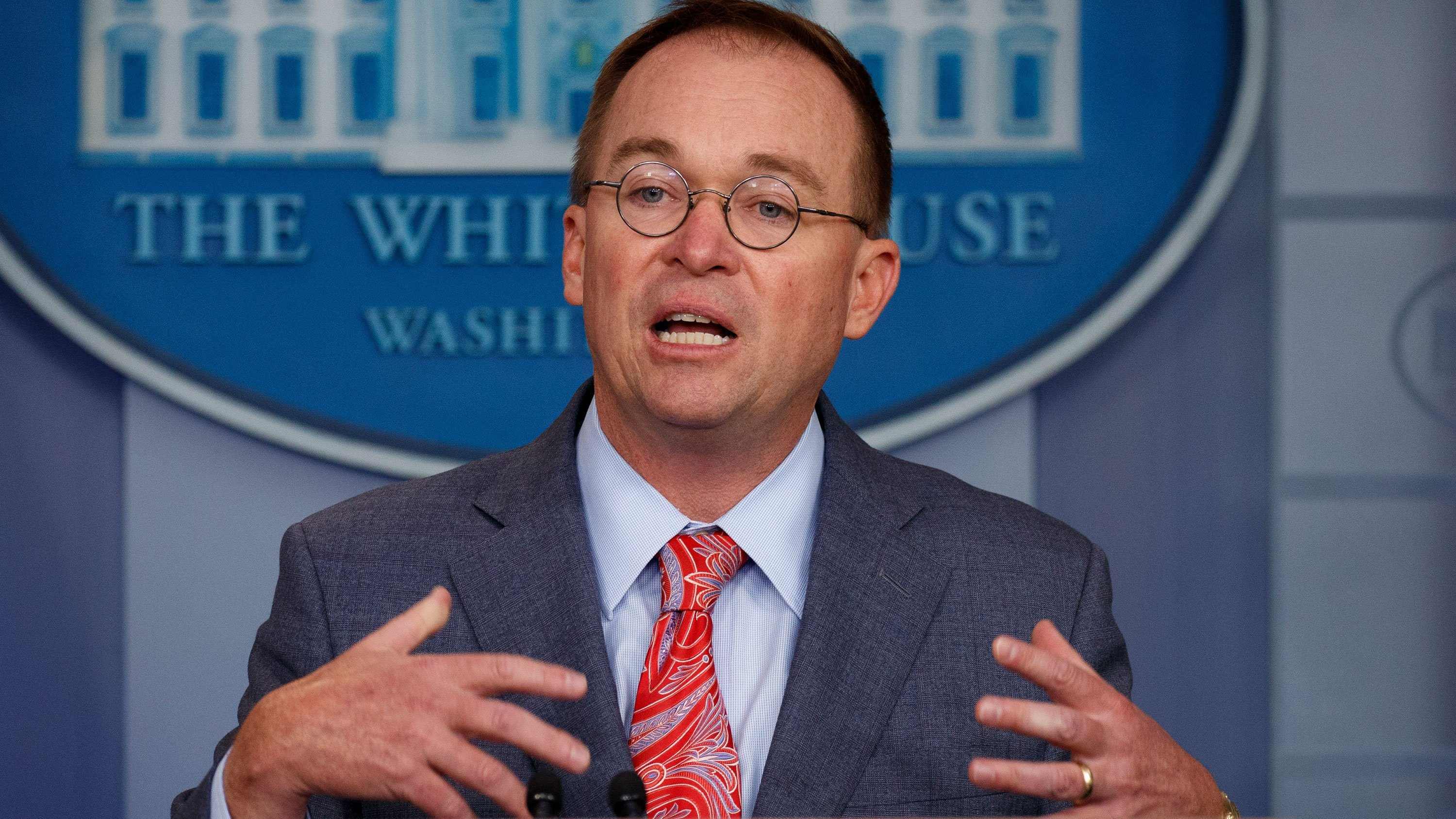 Mulvaney again denies Trump-Ukraine quid pro quo