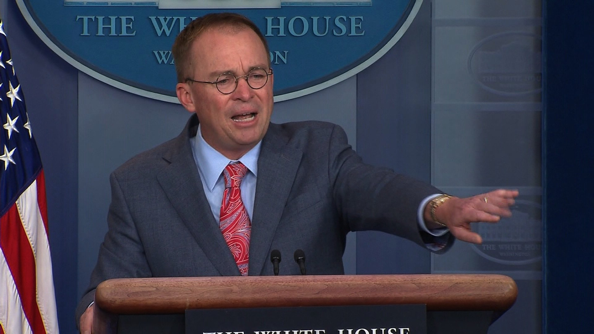 Mulvaney faced White House ouster threat before impeachment crisis took over