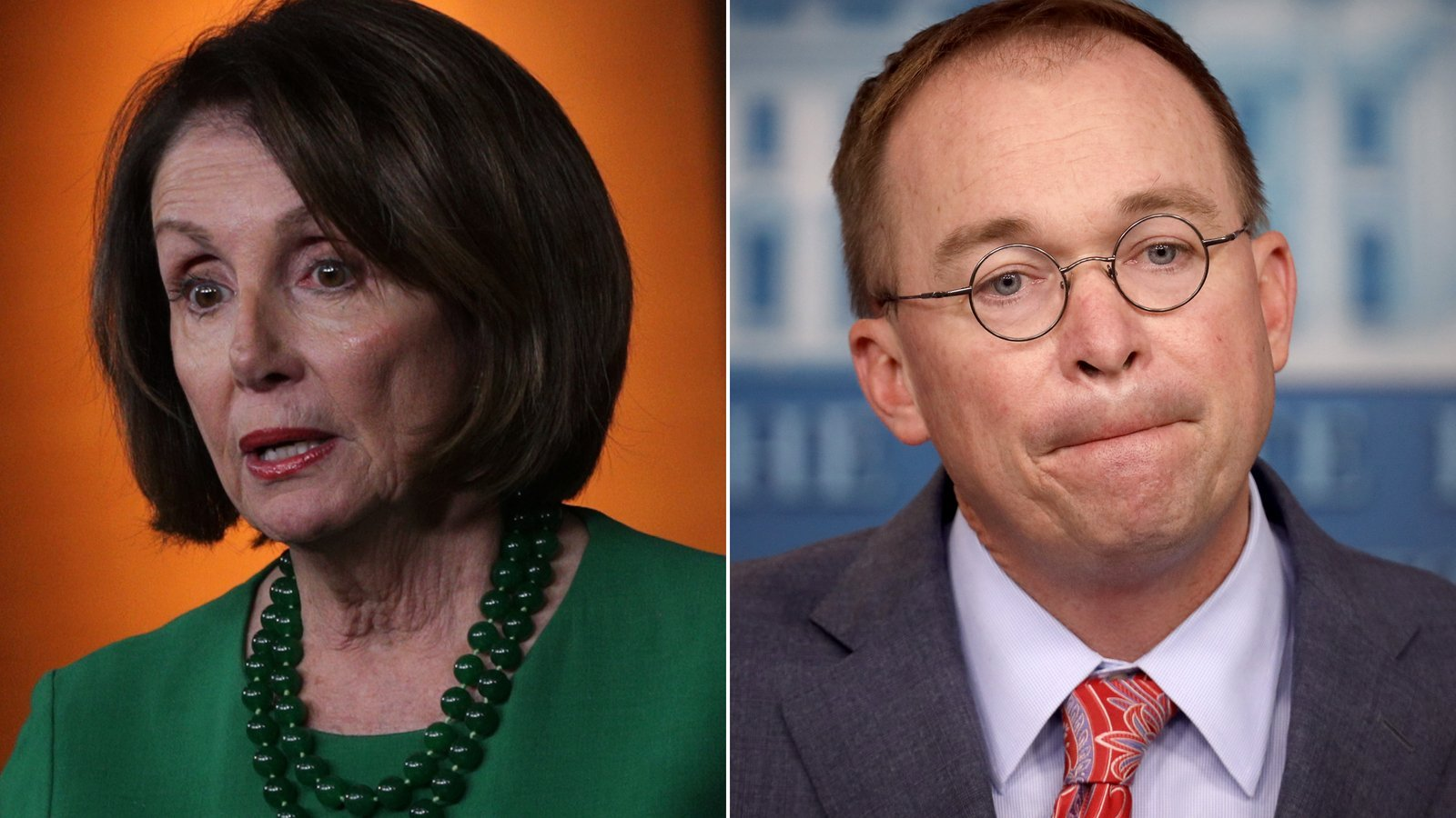 Pelosi says Mulvaney made a 'confession' to wrongdoing