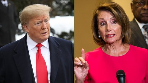 Image for Pelosi on Trump-Mexico agreement: 'Threats and temper tantrums are no way to negotiate'