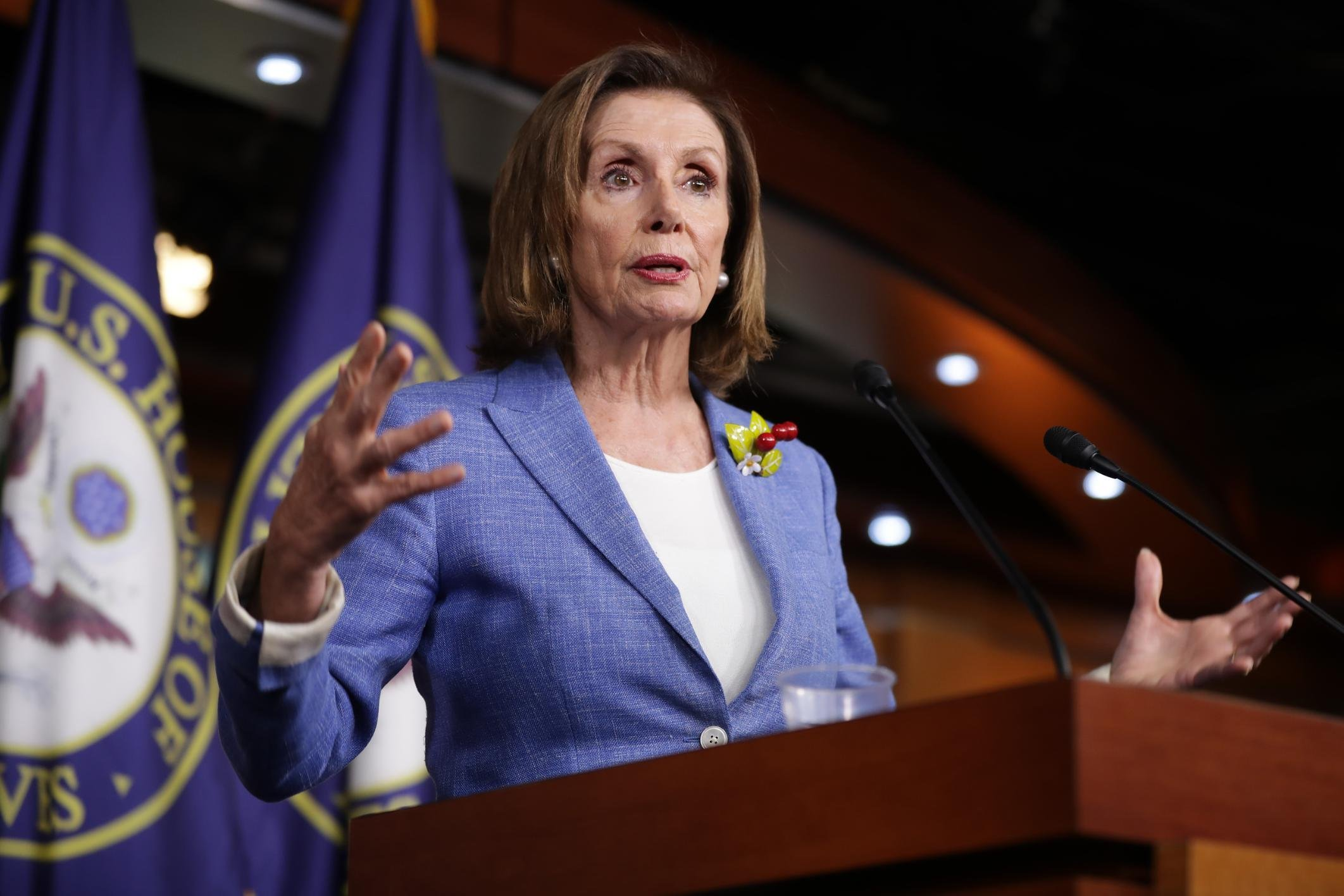 Pelosi leads congressional delegation to Jordan to discuss Middle East and Syria