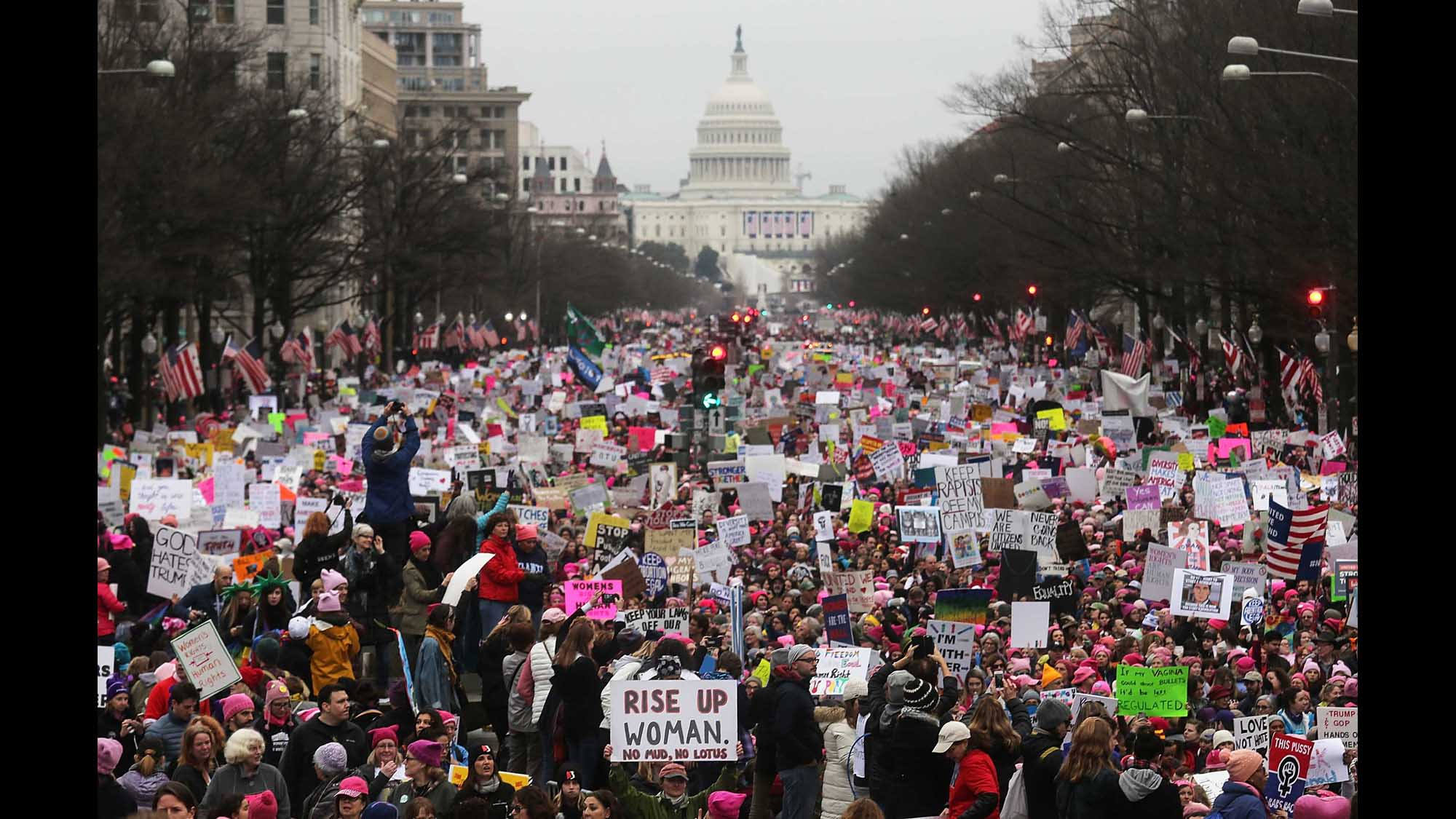 National Archives apologizes and removes altered photo of 2017 Women's March: 'We made a mistake'
