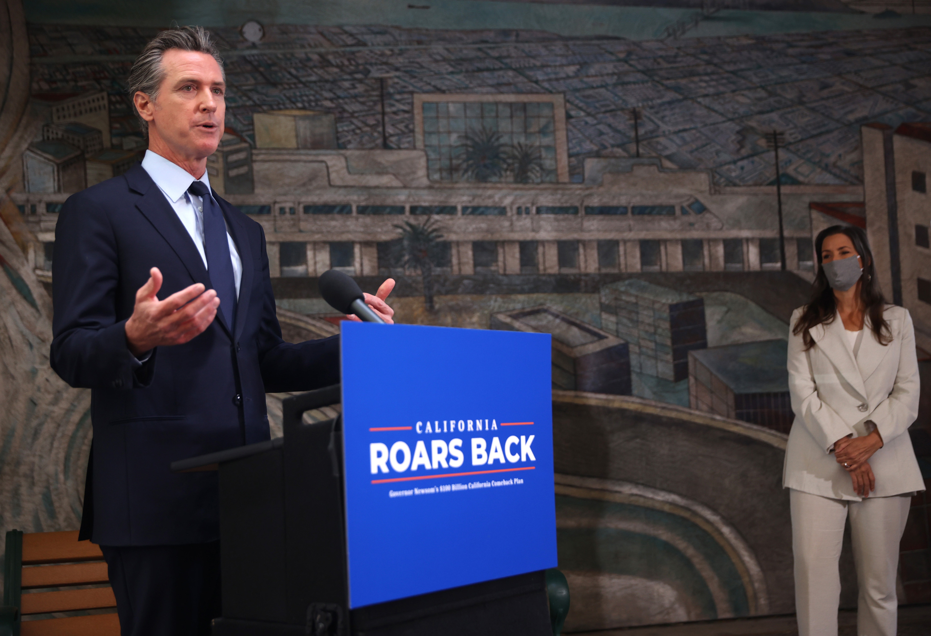 Newsom proposes giving two of every three California residents $600 as recall campaign heats up