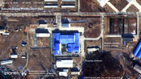 Satellite imagery shows activity at critical North Korean missile site