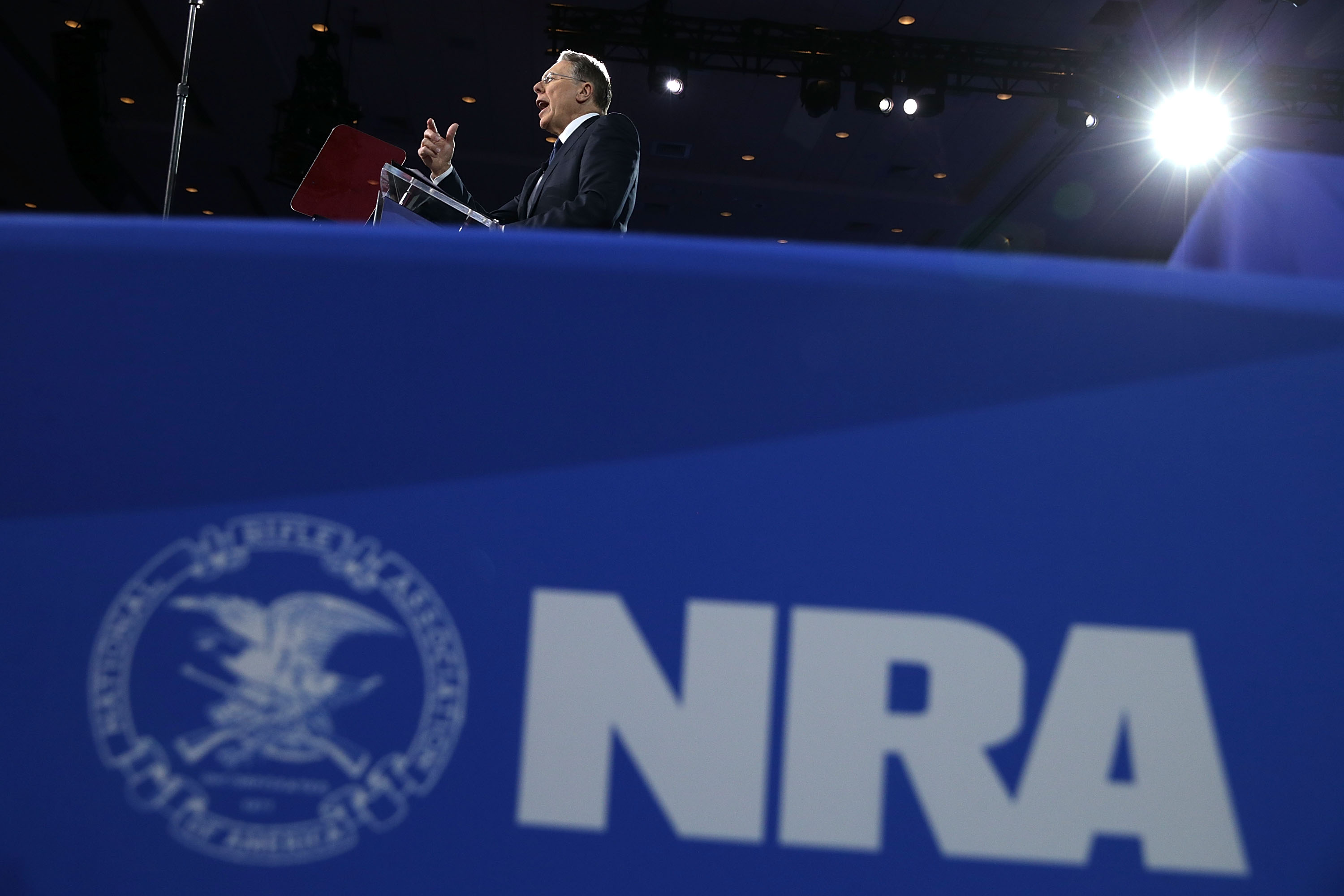 NRA says it's aware of 'significant diversion of its assets' in tax filing