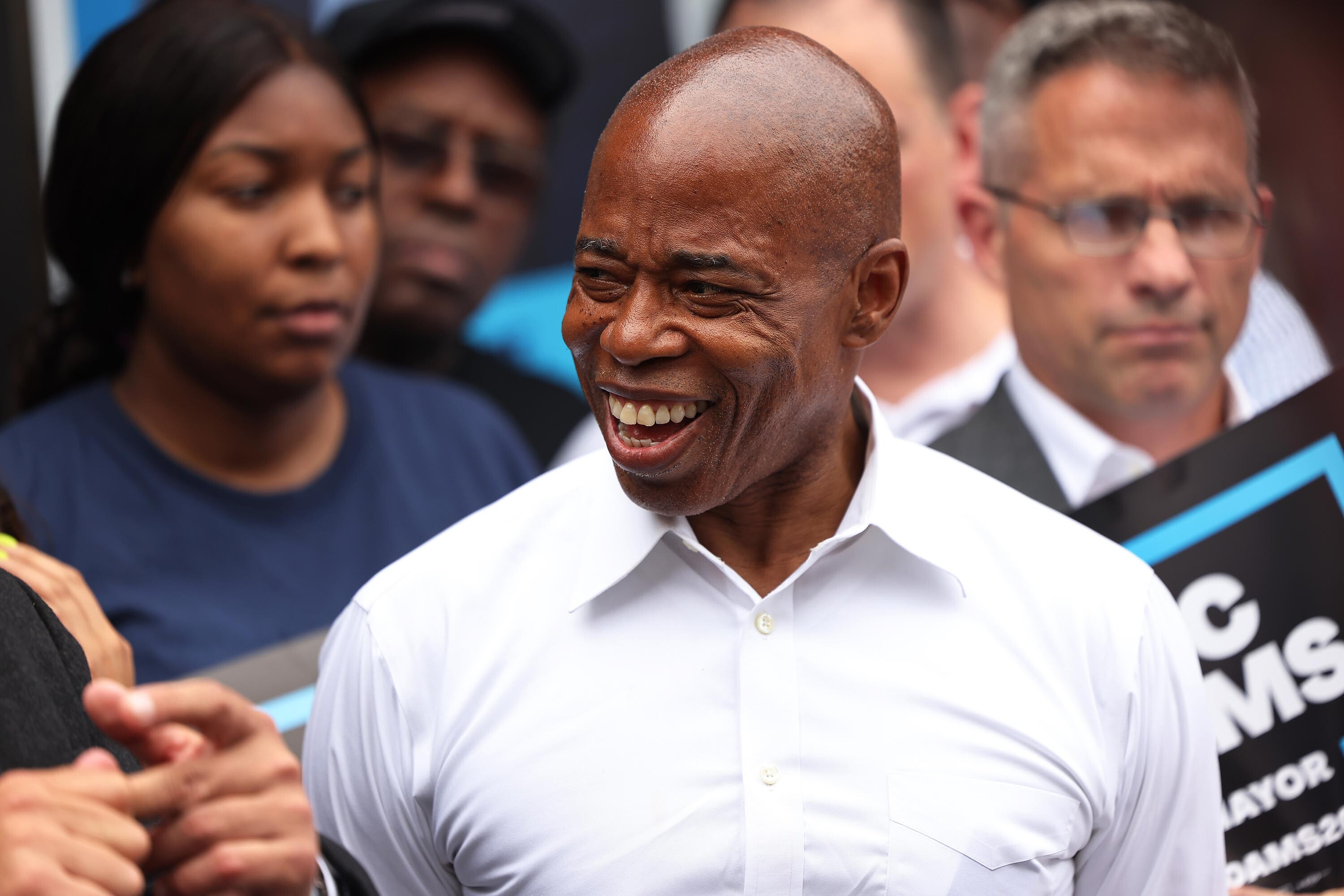 Eric Adams will win Democratic primary for NYC mayor, CNN projects