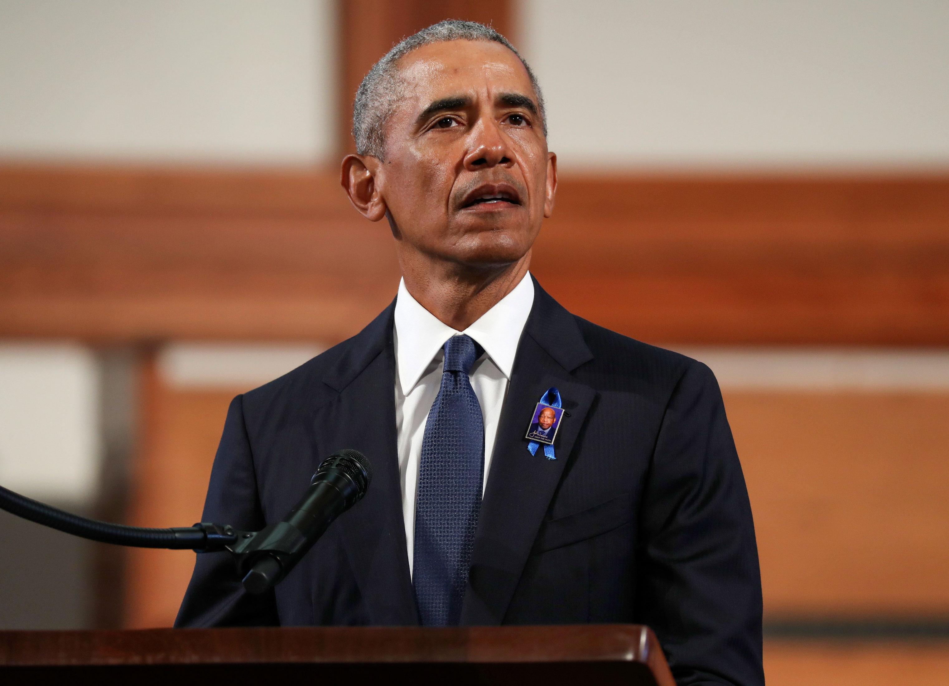 Obama urges voters to focus on down-ballot races to combat gerrymandering