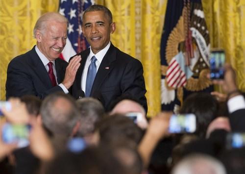 Image for Obama endorses Biden for president in video message