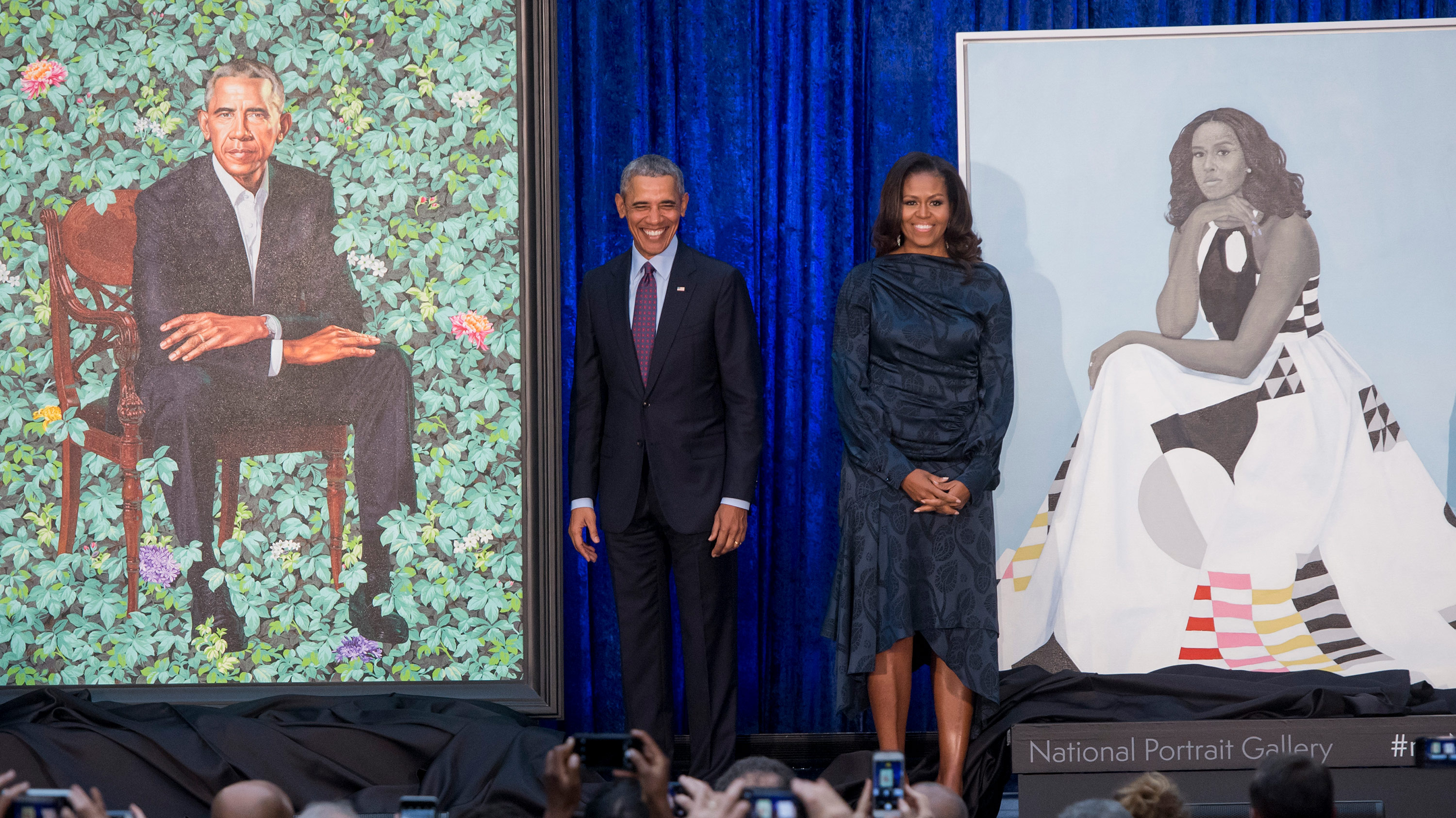Obama portraits to go on year-long national tour in 2021