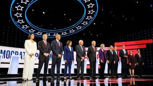 Image for 7 takeaways from the CNN/New York Times Democratic presidential debate