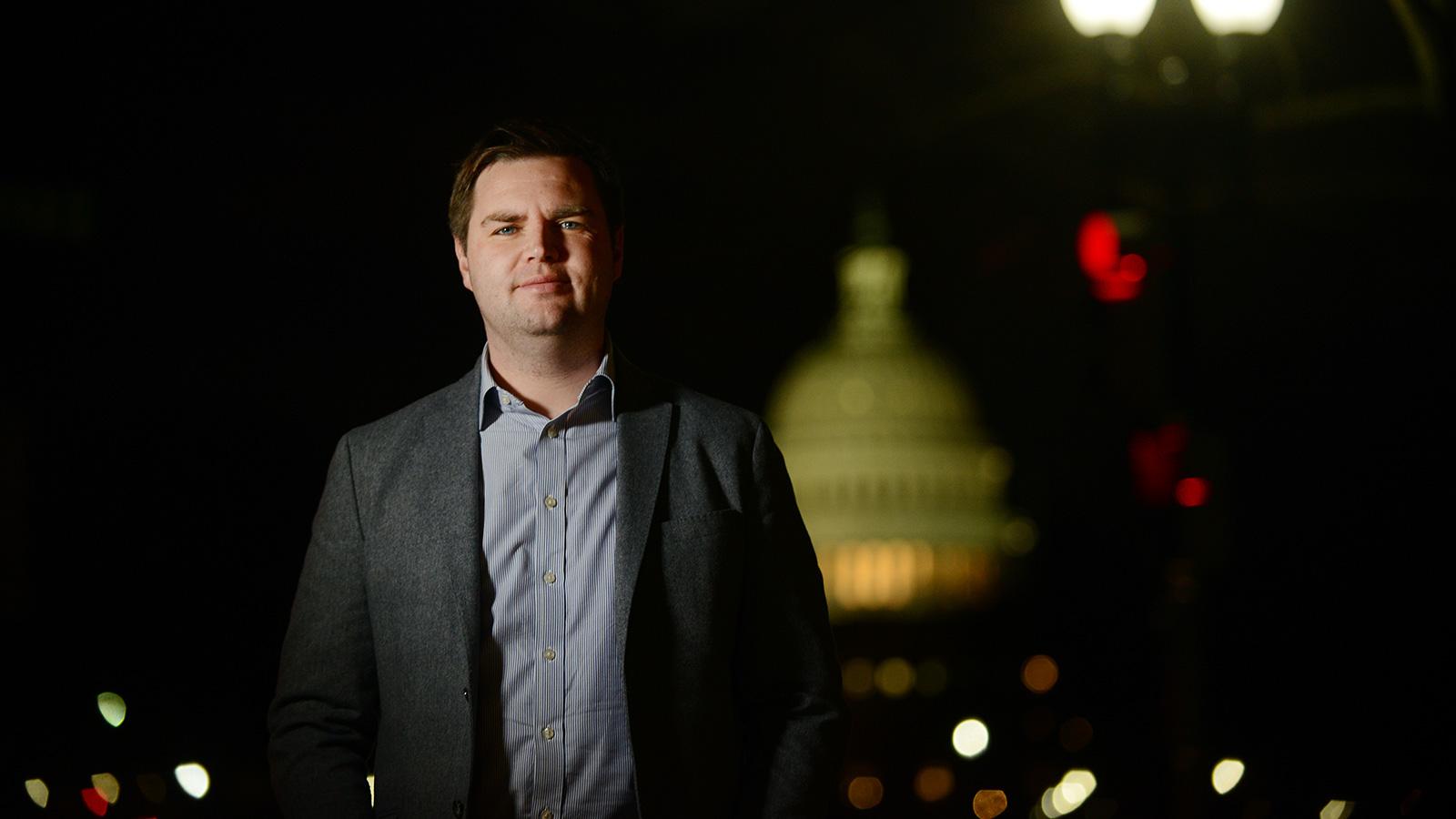 Hillbilly Elegy author enters large, pro-Trump GOP field for Ohio Senate seat