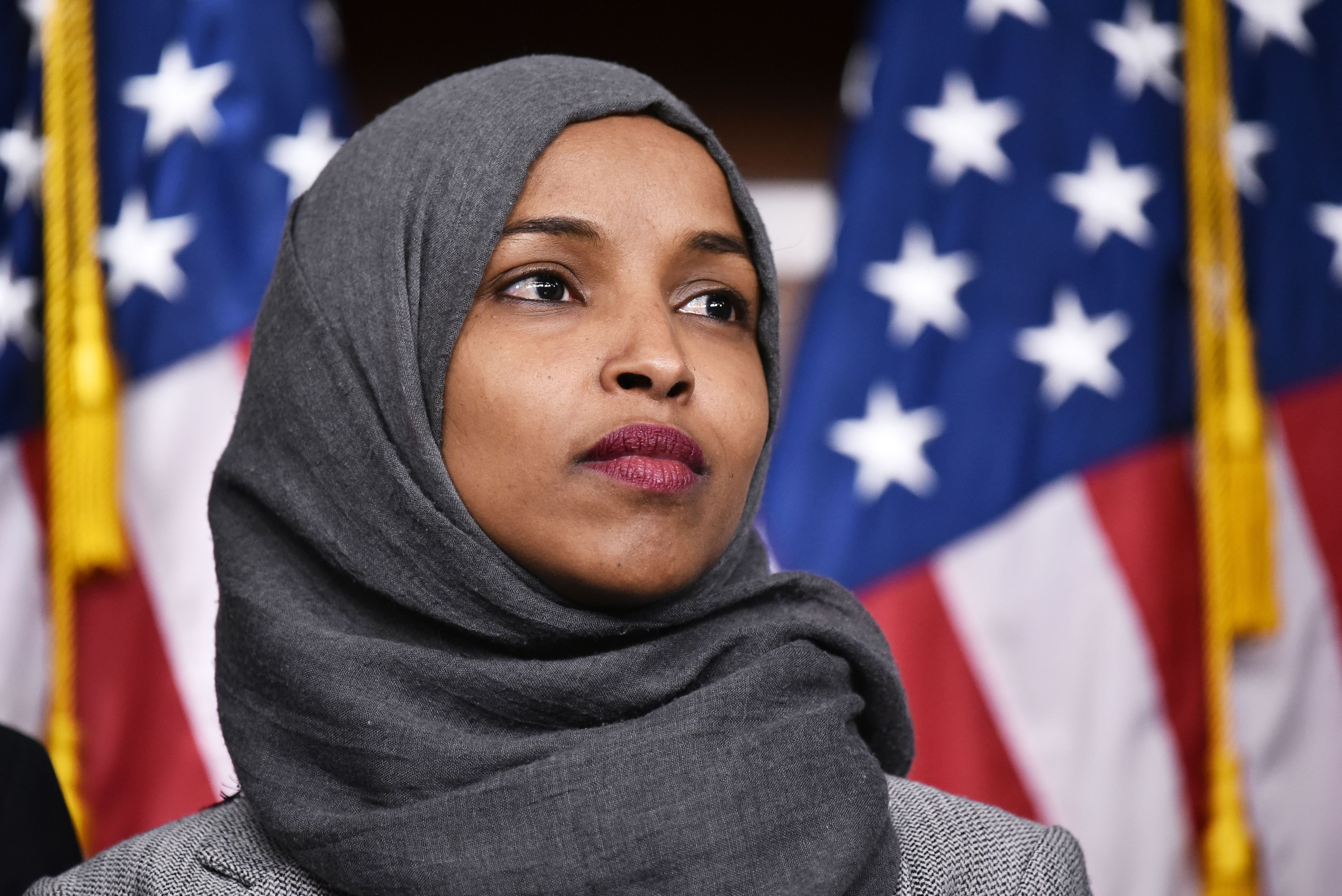 Omar did 'go back' — to Minnesota to talk health care