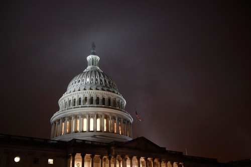 Image for House passes defense bill that would include paid family leave for federal workers for the first time