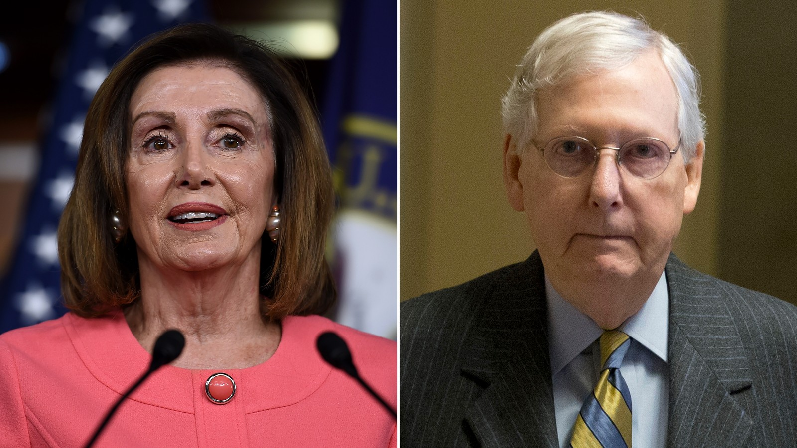 Pelosi: Trump and McConnell 'should not try to hide behind' impeachment excuse over coronavirus response