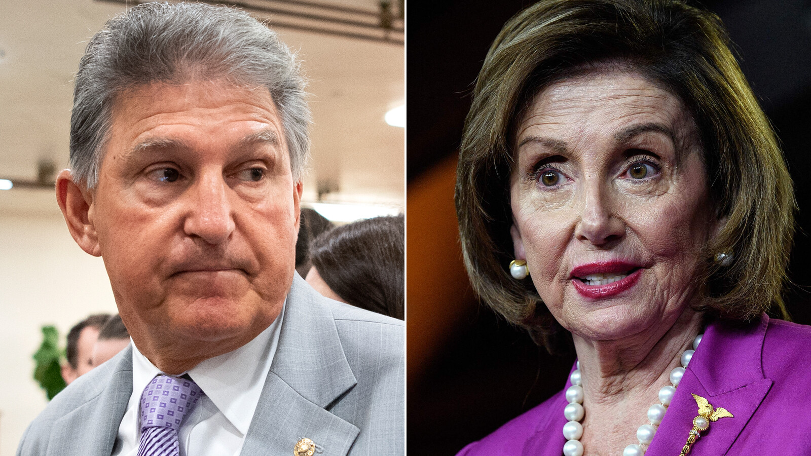 Pelosi rejects Manchin's call for a 'pause,' shows little willingness to pare back $3.5 trillion bill