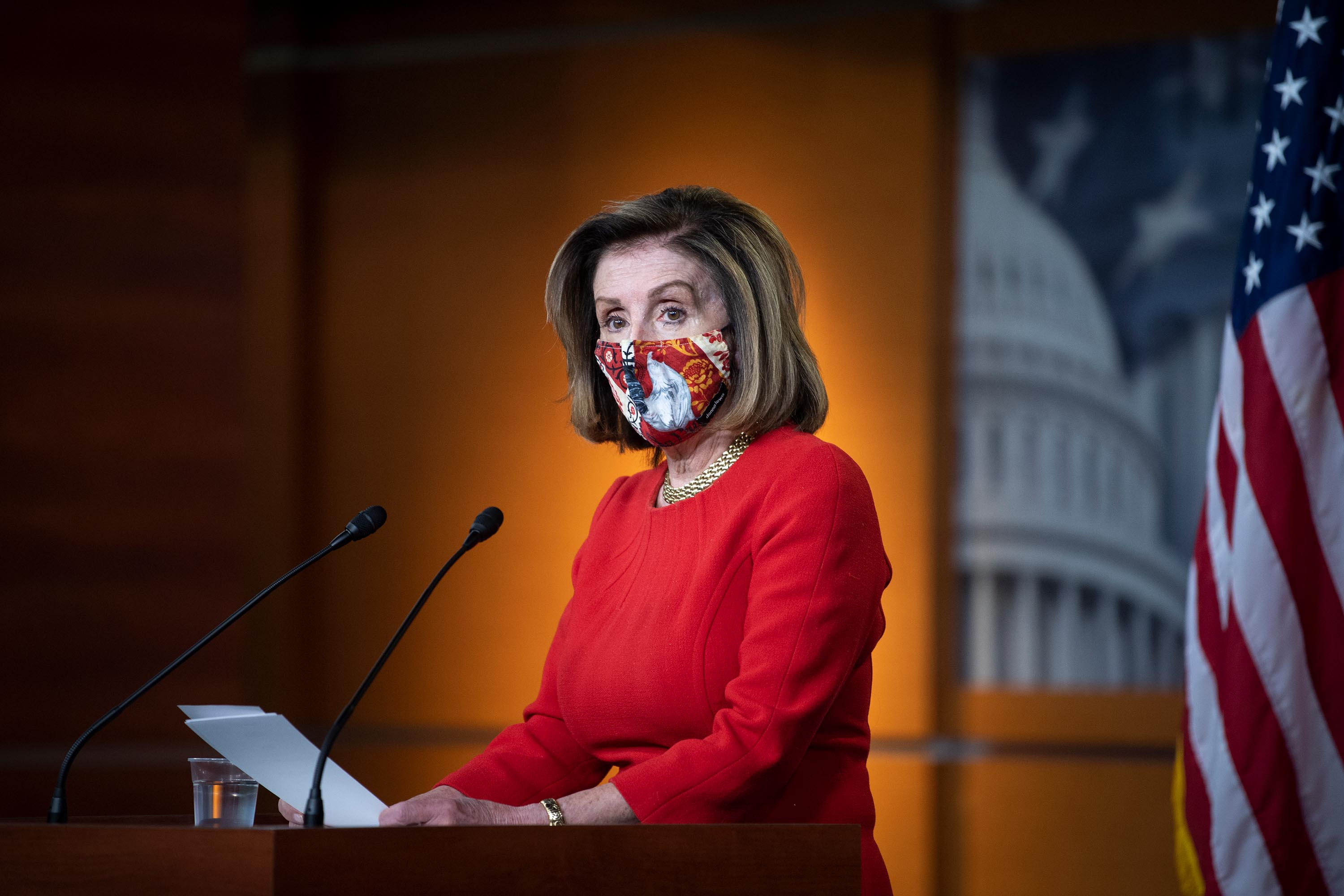 Pelosi defiant over handling of stimulus: Rejecting previous Republican proposals was 'not a mistake'