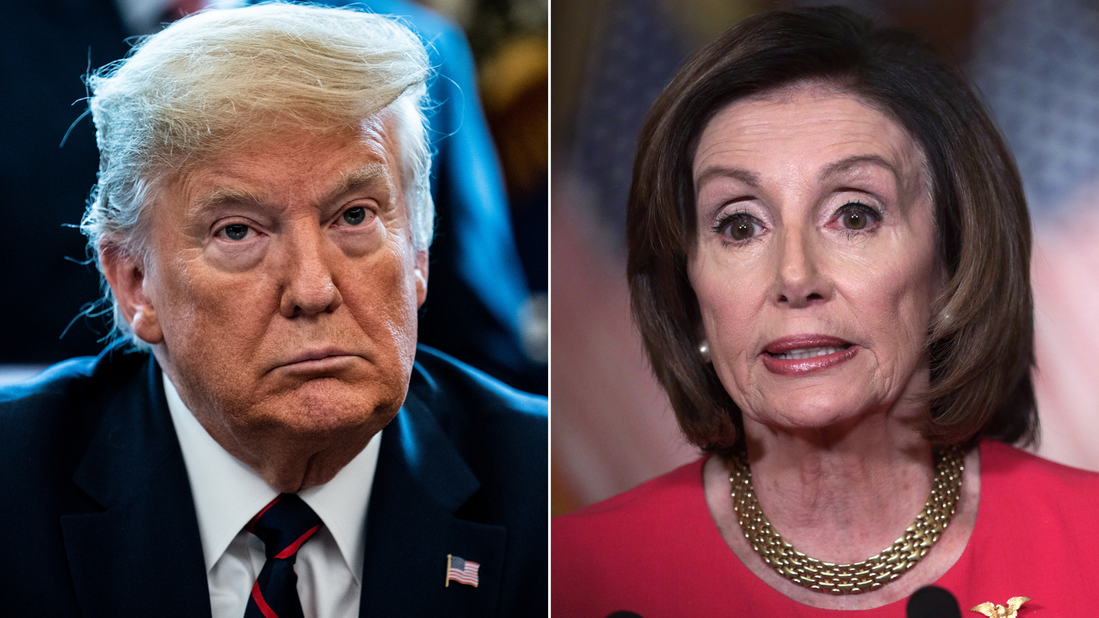 Trump and Pelosi haven't spoken in nearly 10 months