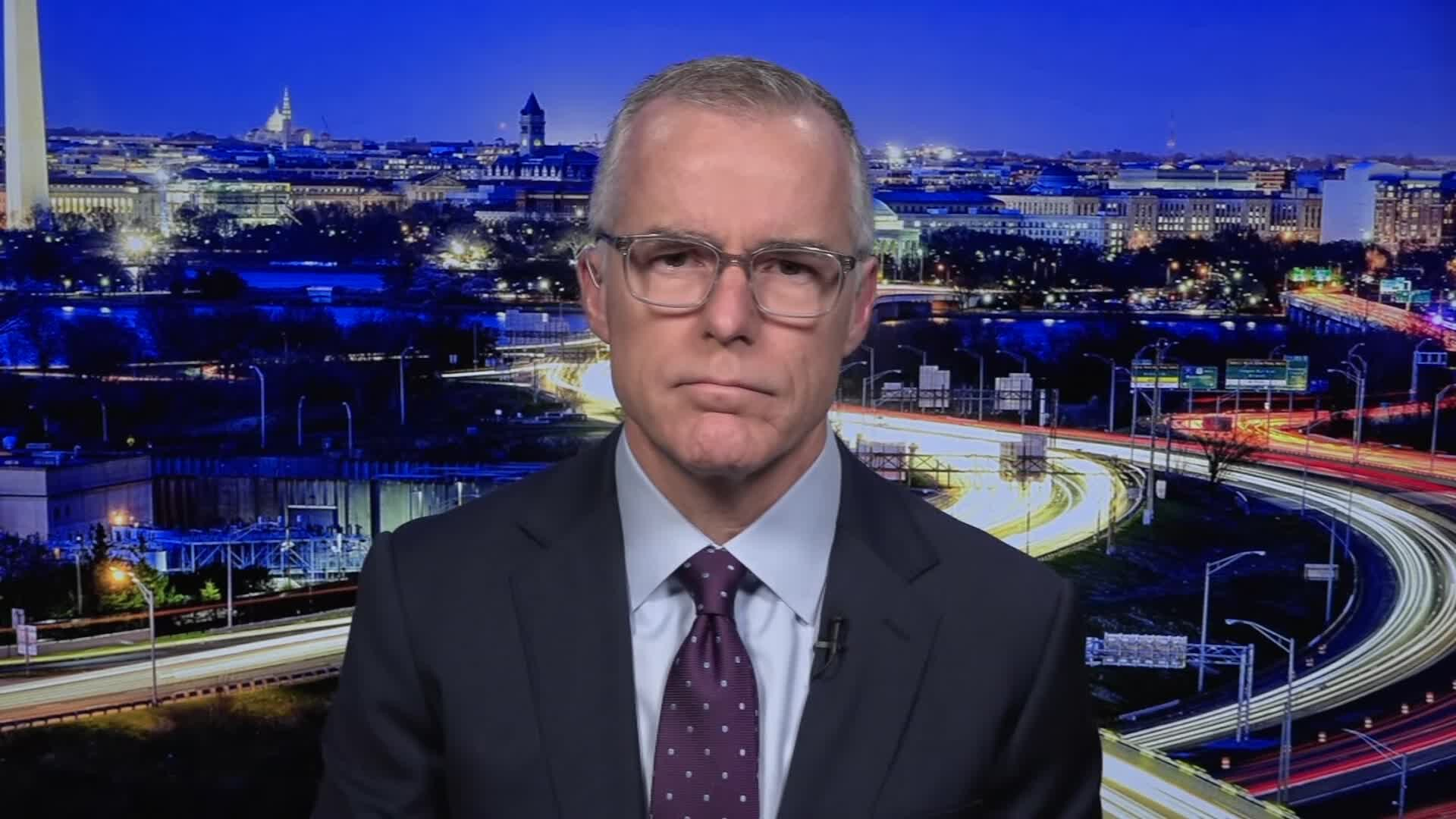Andrew McCabe, fired by Trump, gets pension back