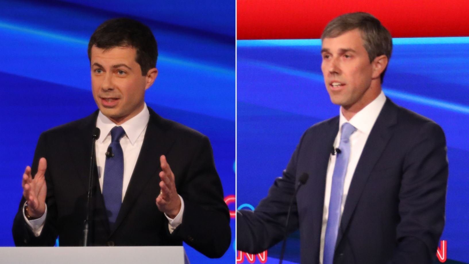 Buttigieg to O'Rourke: 'I don't need lessons from you on courage — political or personal'