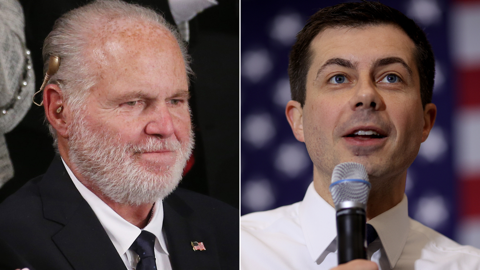 Buttigieg responds to Limbaugh's homophobic remarks: 'I love my husband'