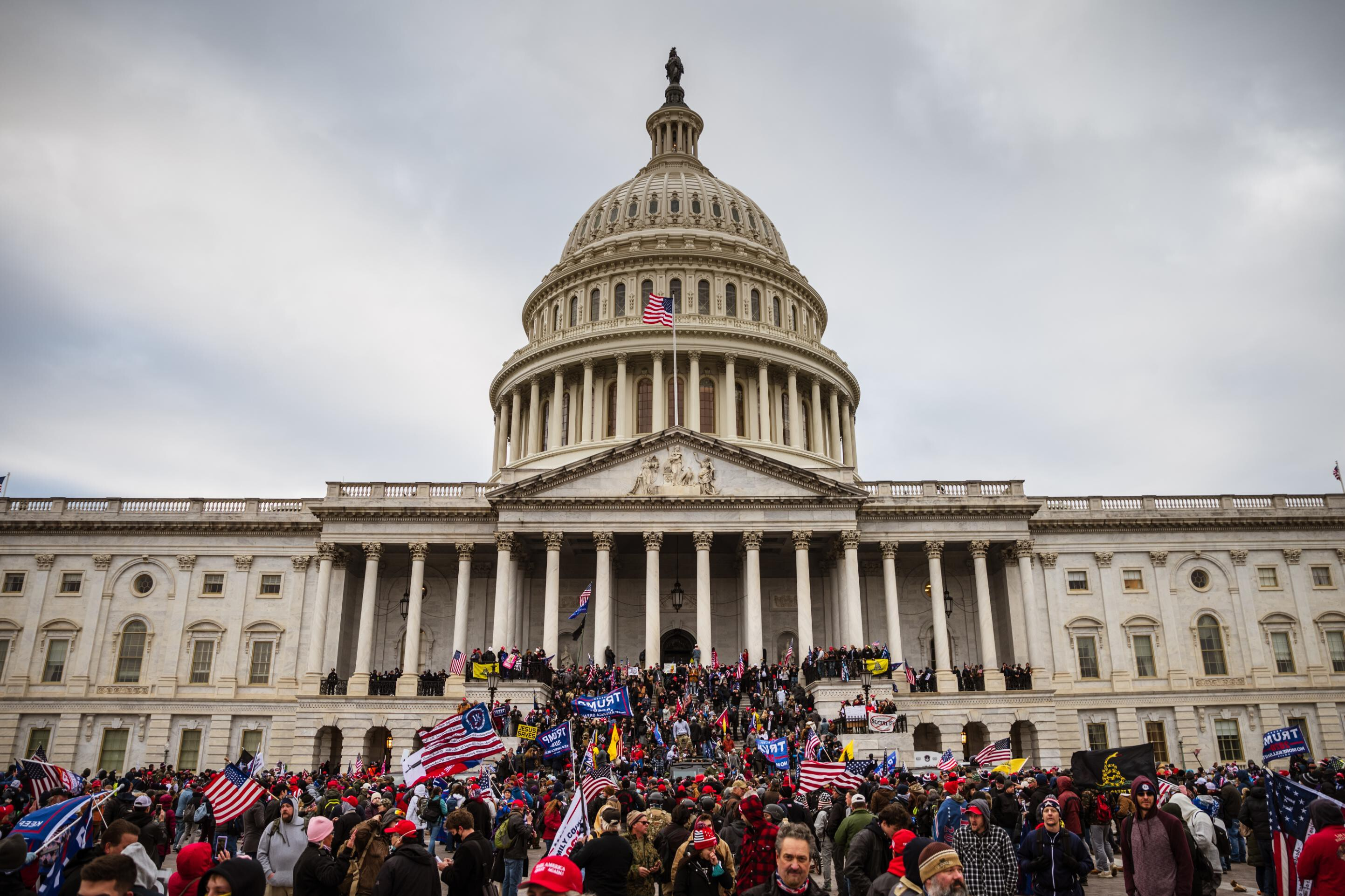 GOP enthusiasm for prosecuting Capitol rioters has fallen, Pew poll finds
