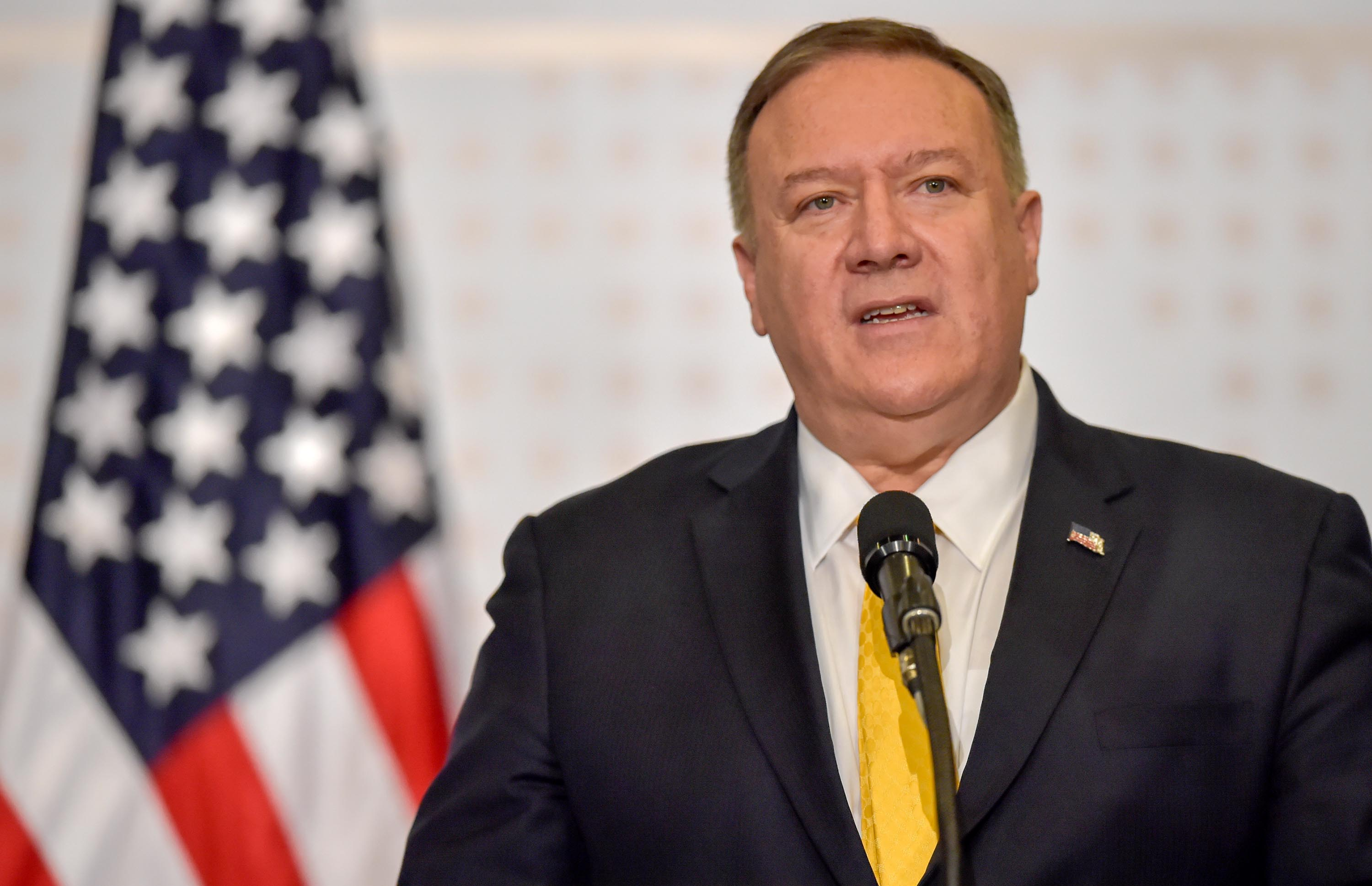 Pompeo reschedules trip to Ukraine as impeachment trial wages on