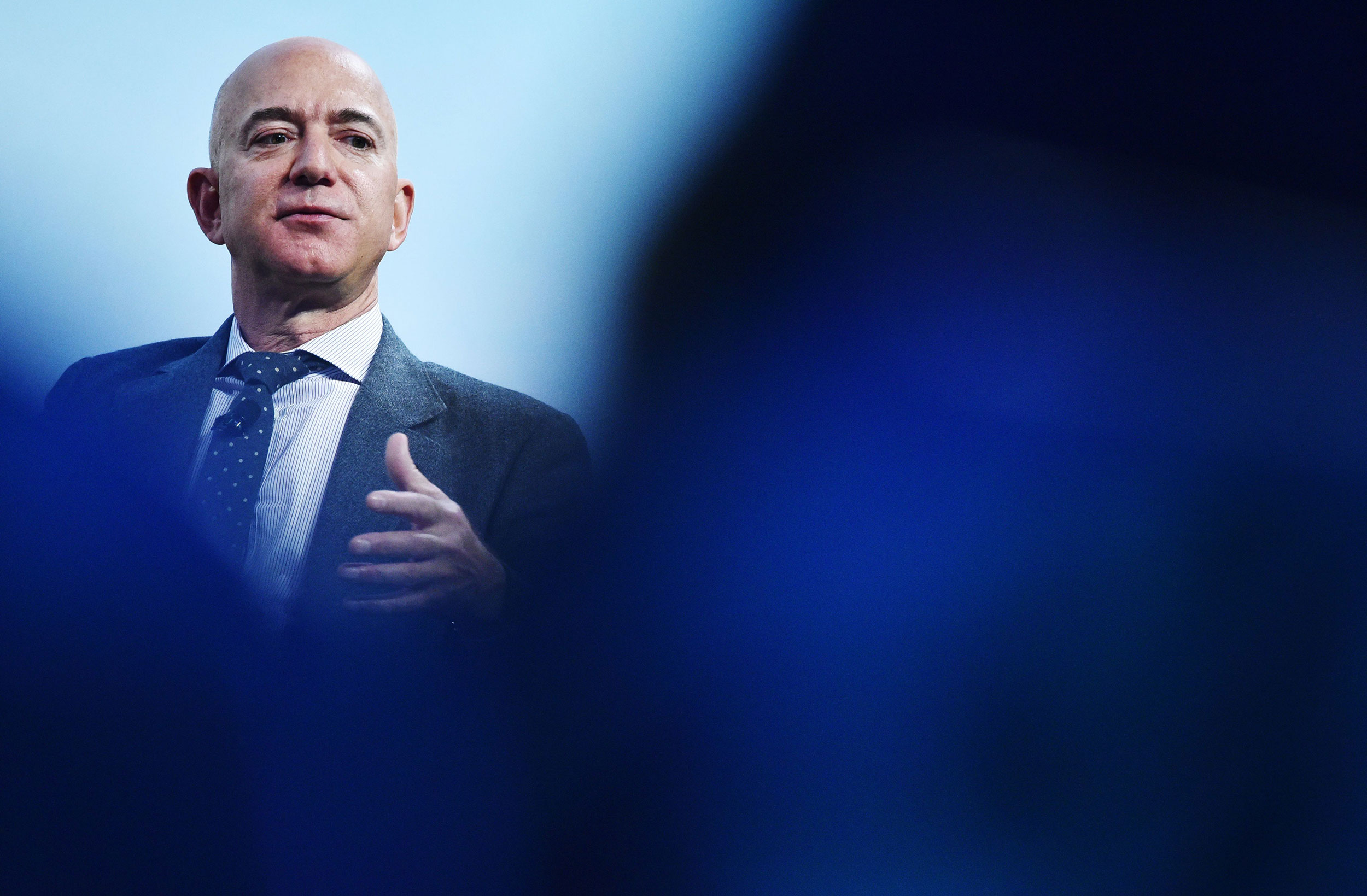 CEOs like Jeff Bezos are grappling with new political realities