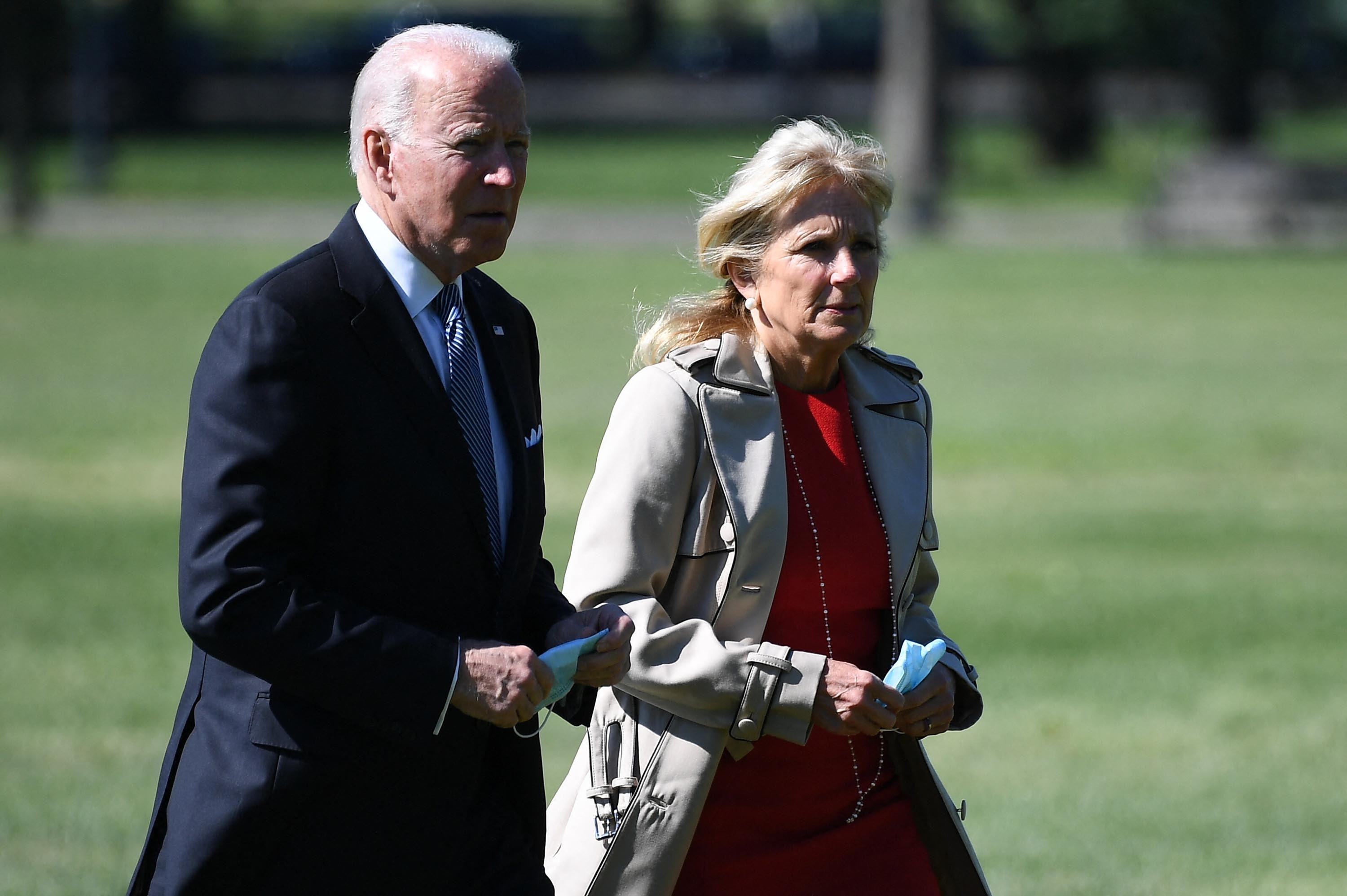 'Never give up hope': Biden reprises role as consoler-in-chief during South Florida visit