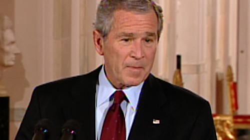 Image for George W. Bush on George Floyd protests: 'It is time for America to examine our tragic failures'