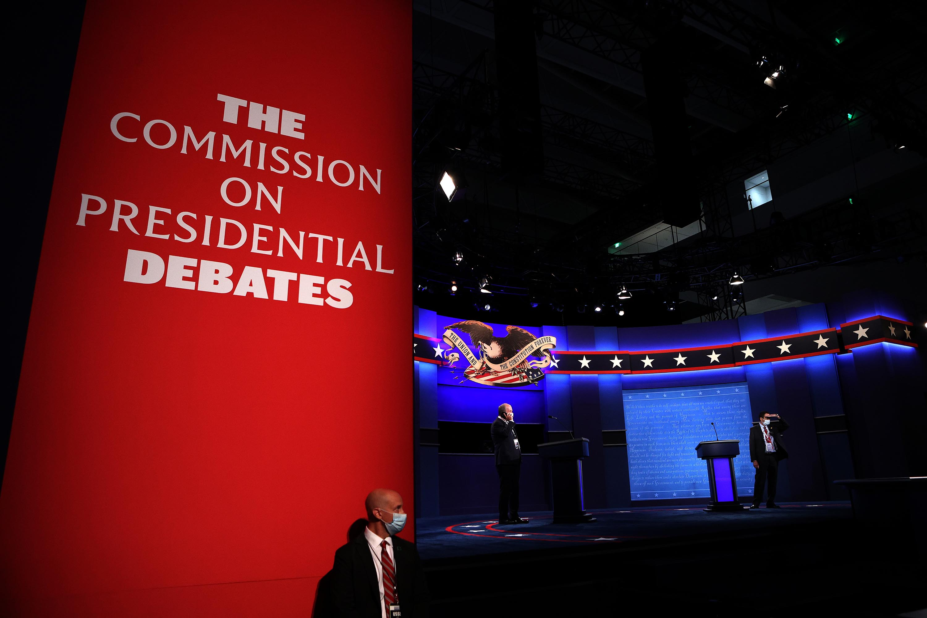 Commission on Presidential Debates says it will make changes to format to 'ensure a more orderly discussion'