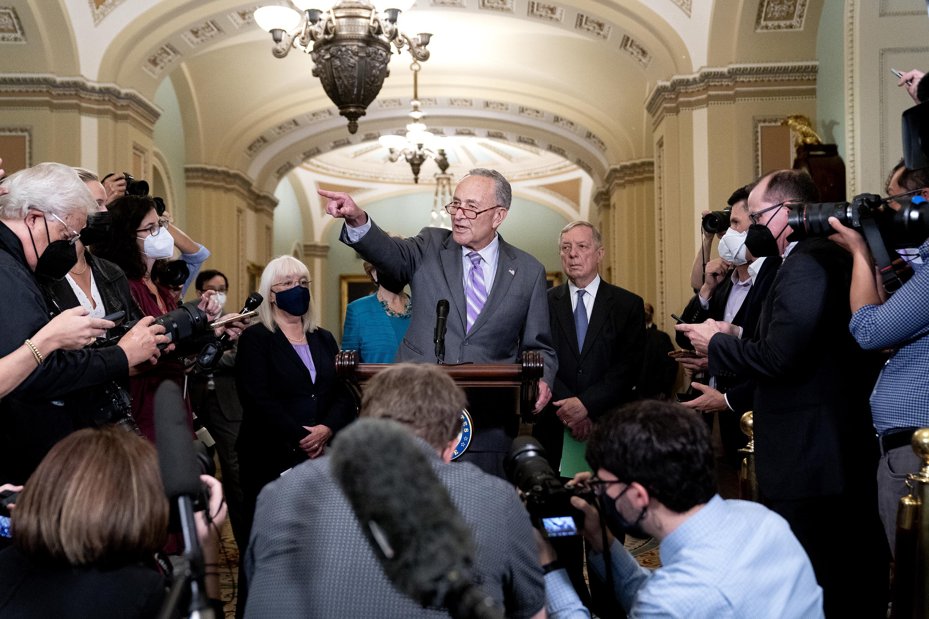 Democrats explore new options to raise debt ceiling amid deepening standoff with GOP