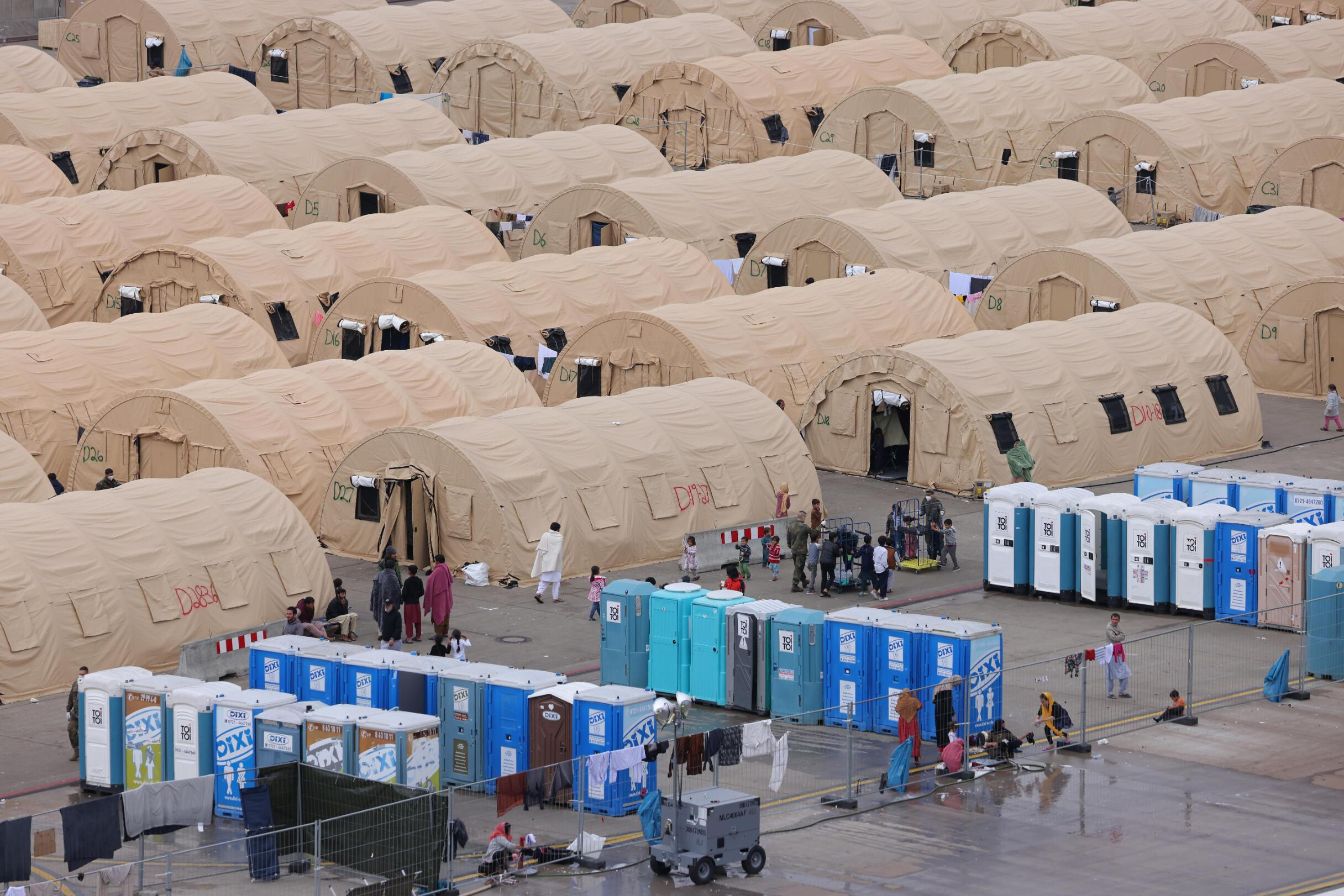 Situation becoming 'dire' at US airbase in Germany housing approximately 2,000 pregnant Afghan refugees
