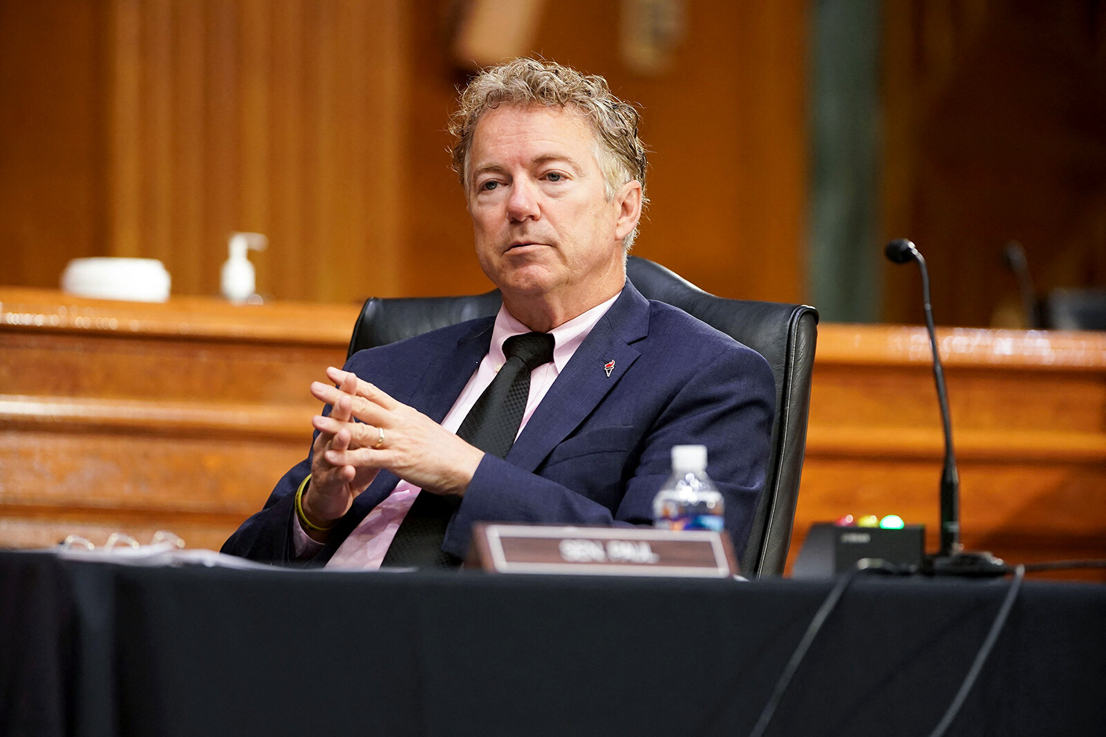 Rand Paul reveals in late financial disclosure that his wife bought stock in company behind remdesivir in February 2020