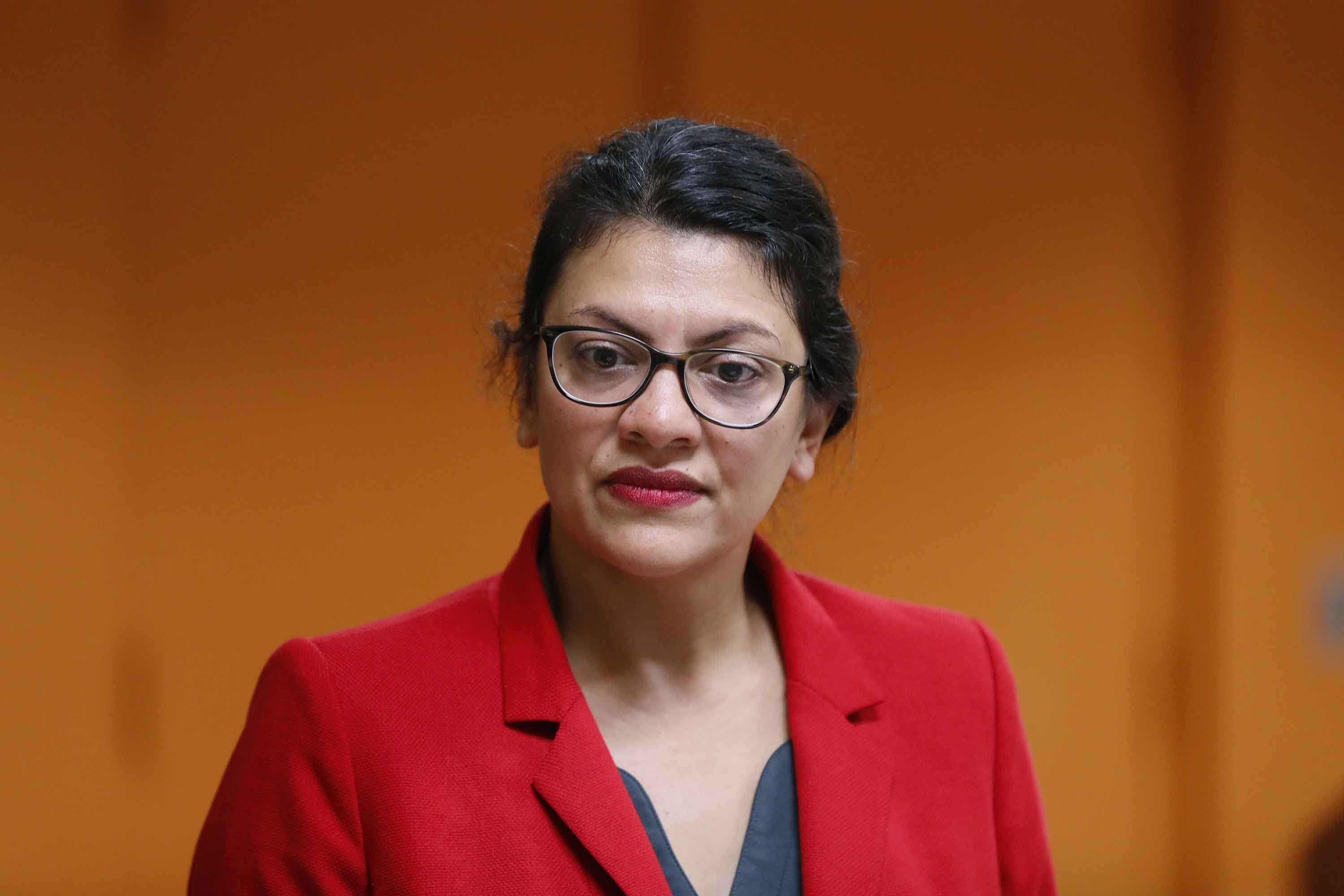 'I should be on a plane to see her': Tlaib emotional after decision not to visit grandmother in West Bank