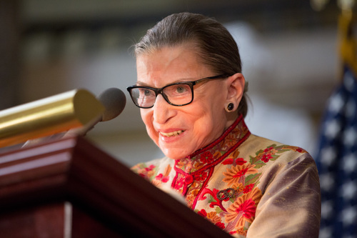 Image for Ruth Bader Ginsburg 'resting comfortably' after nonsurgical treatment for benign gallbladder condition