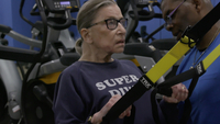Ruth Bader Ginsburg continues to work out at Supreme Court private gym, her trainer says