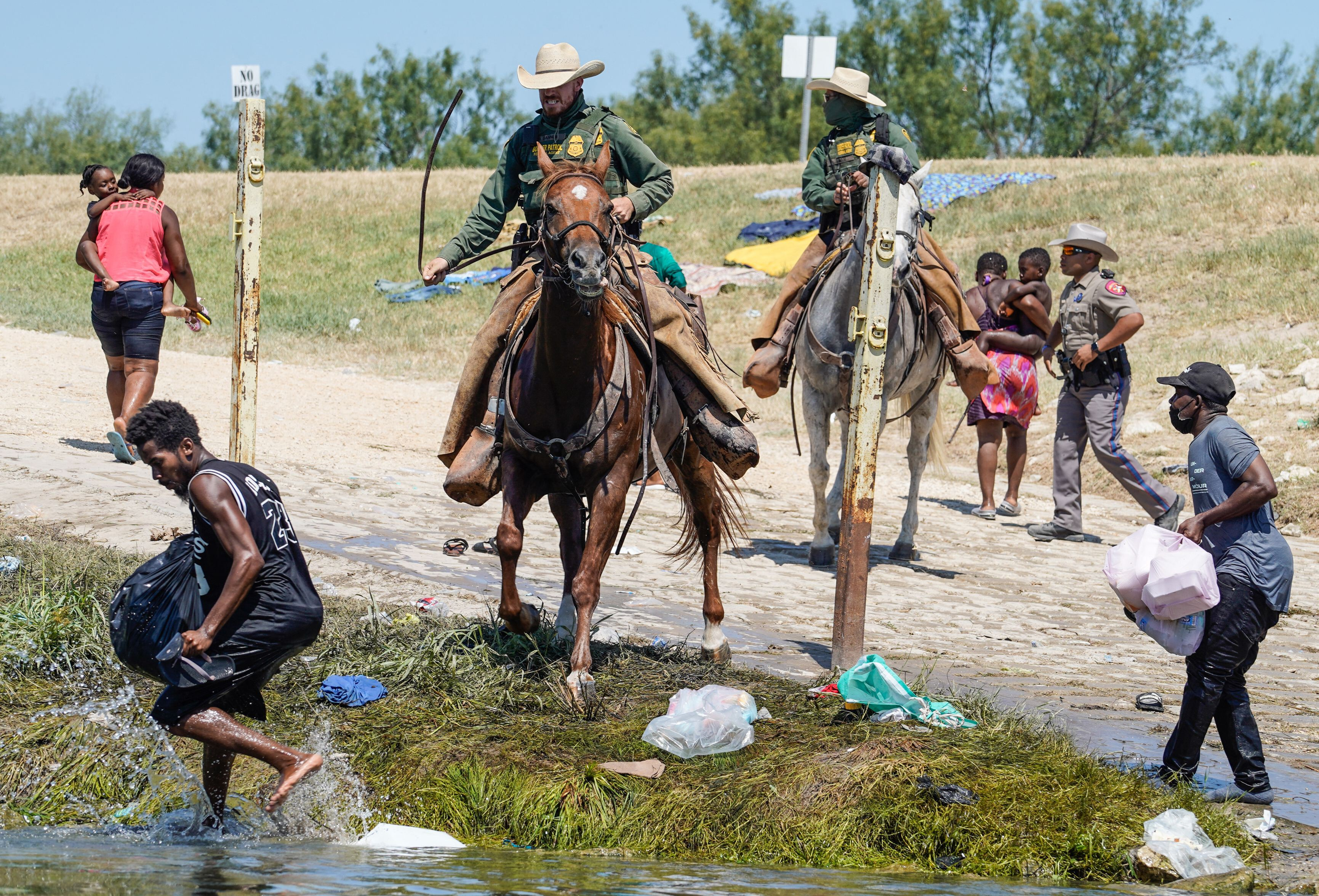 Democrats blast Biden administration on handling of Haitian immigrants at the border