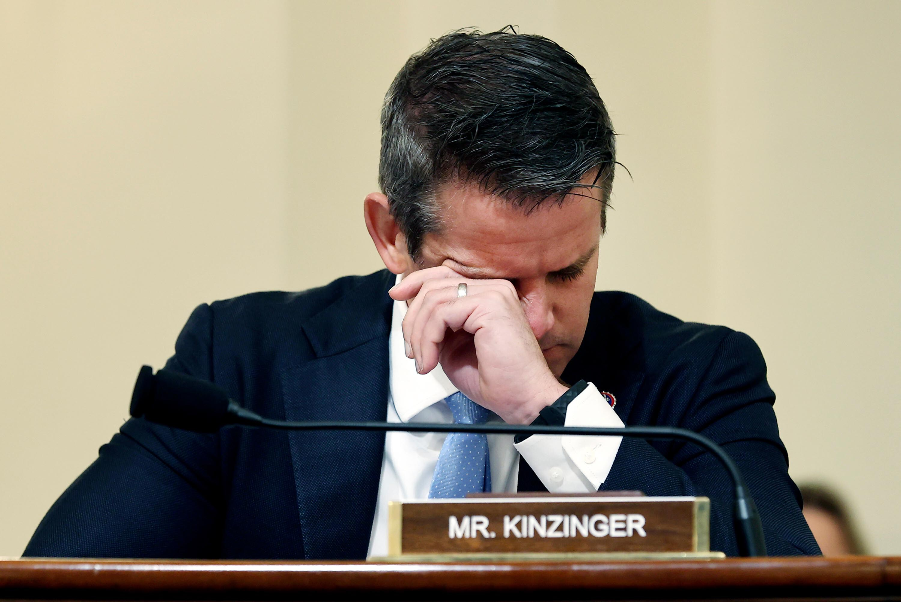 Read: Rep. Adam Kinzinger's opening remarks at first hearing for select committee on Jan. 6