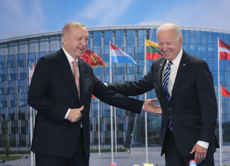 Erdoğan and Biden hold bilateral meeting following NATO summit