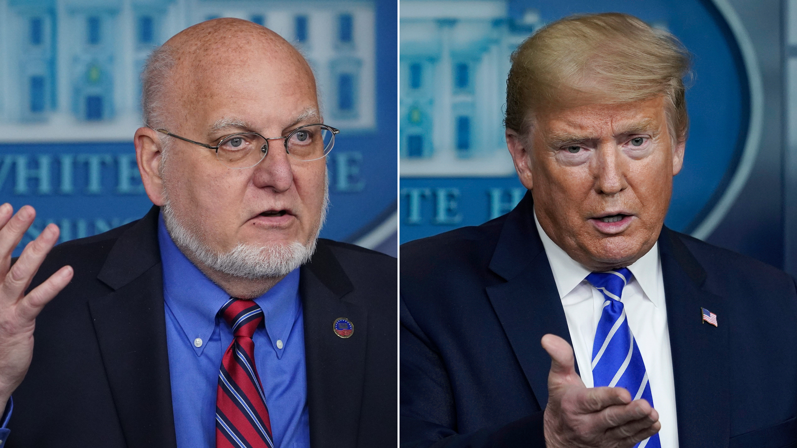 Trump has lost patience with CDC head after series of mixed messages