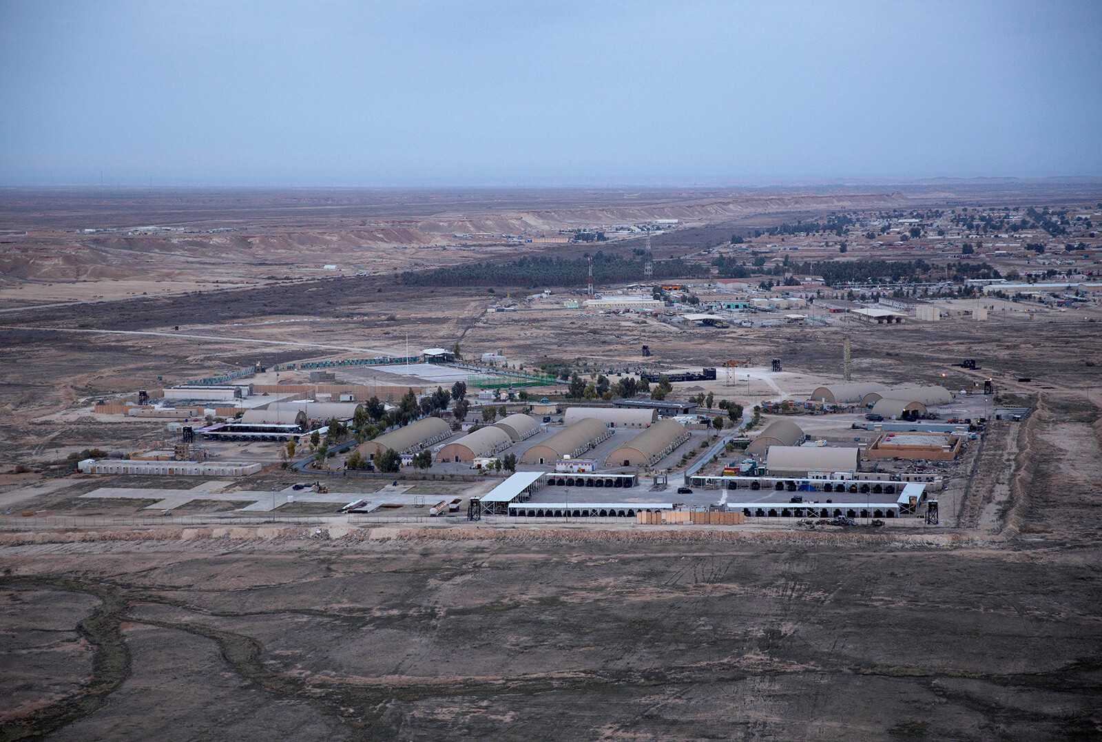 Two injured in rocket attacks on Iraqi airbase housing US troops