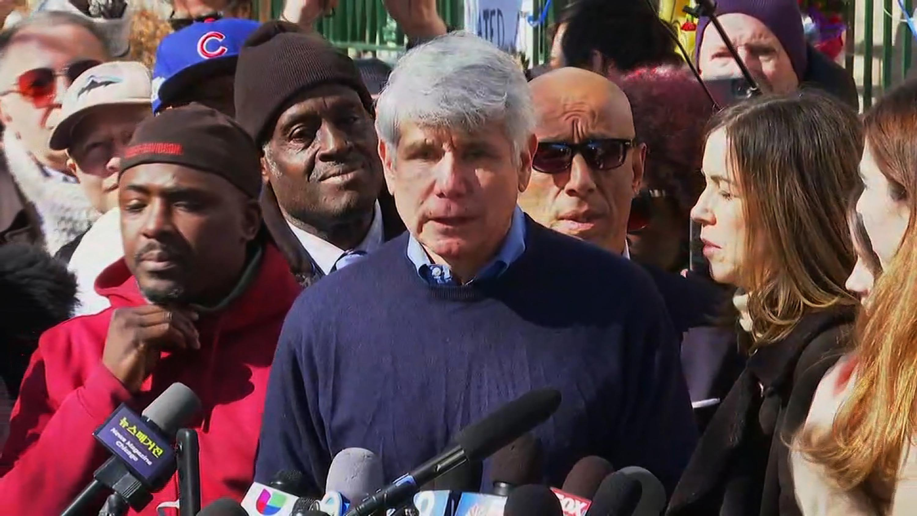 Blagojevich thanks Trump for commuting sentence and declares himself a 'Trump-ocrat'
