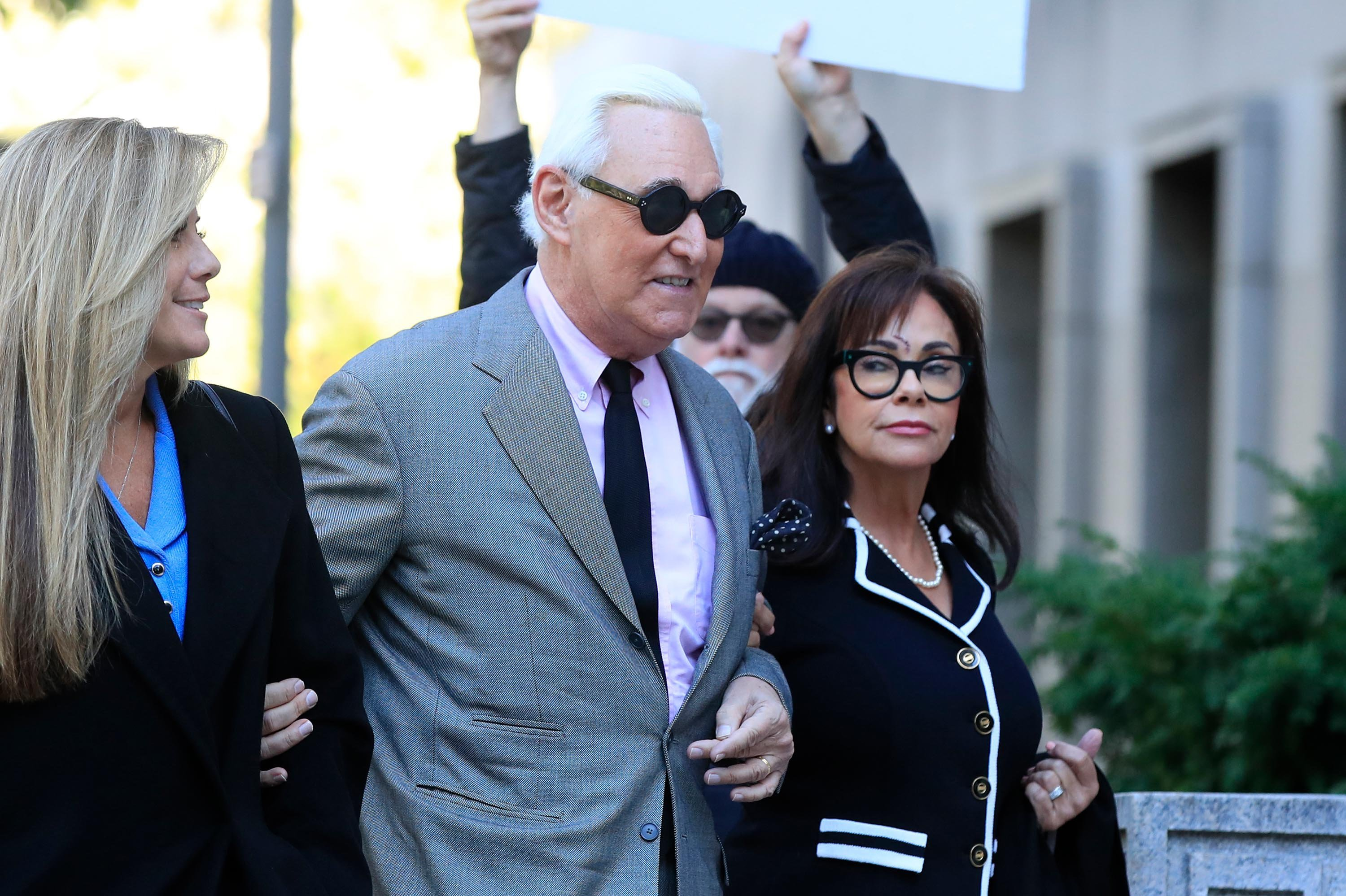'Truth matters': Prosecutors urge jury to convict Roger Stone for lying to protect Trump
