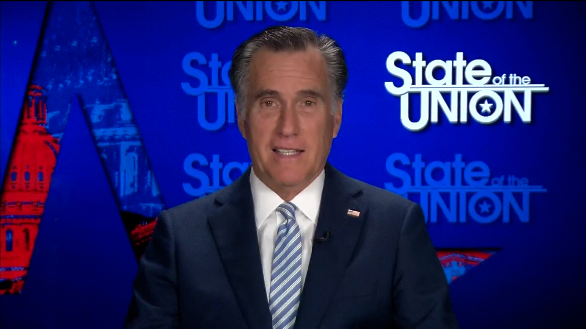 Romney on Trump's return to rallies: 'It's entertaining but it's not real'