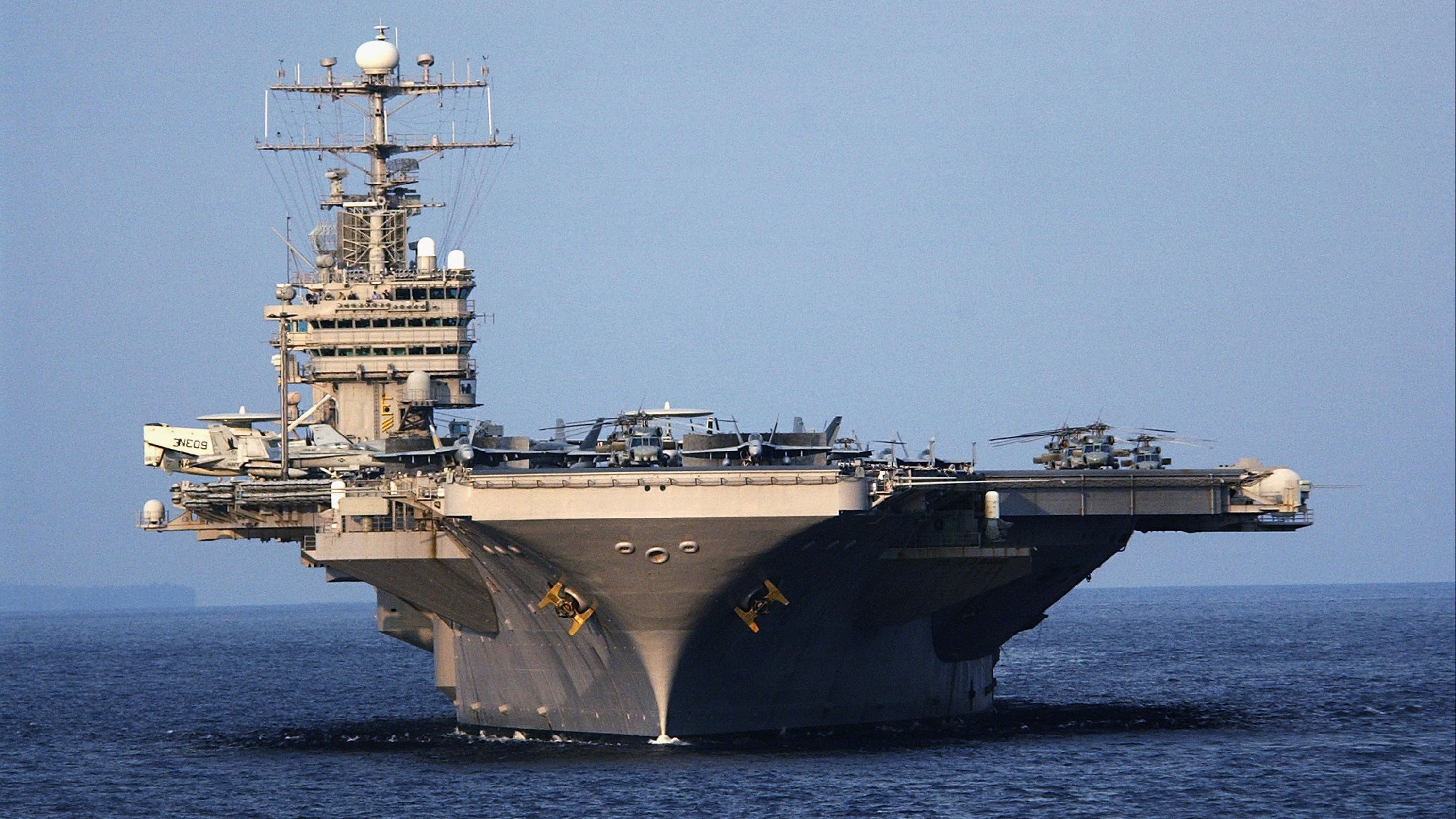 US sailor missing after going overboard in Persian Gulf