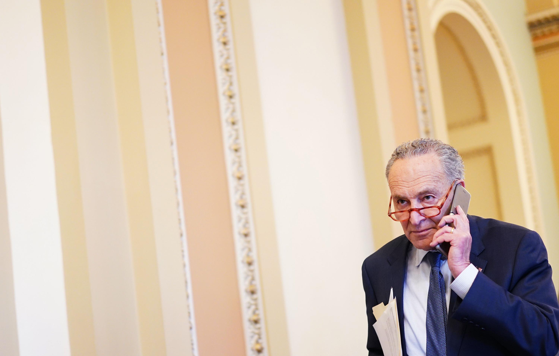 Schumer and Senate Democrats unveil proposal to federally decriminalize marijuana